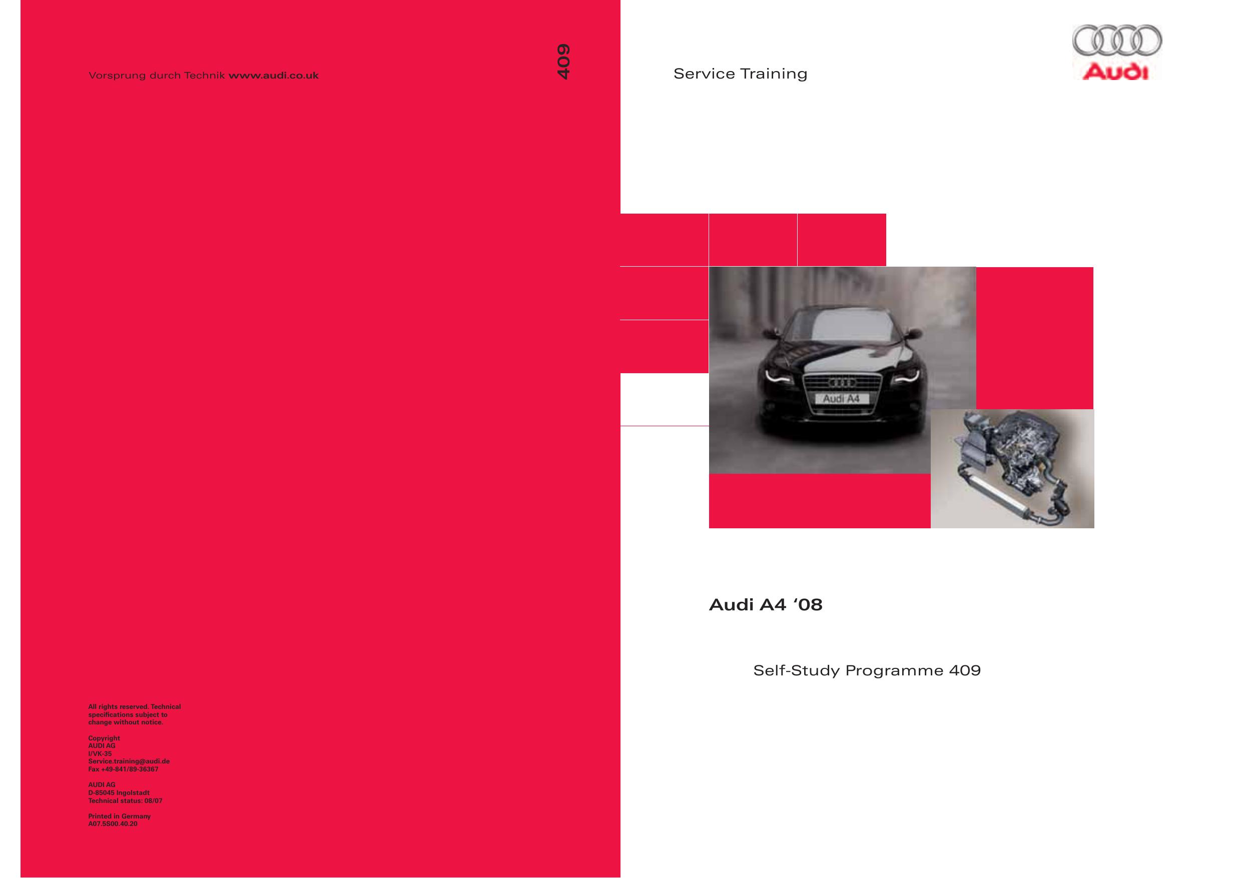 409 Audi A4 `08 | manualzz.com G Audi A Wiring Diagram on