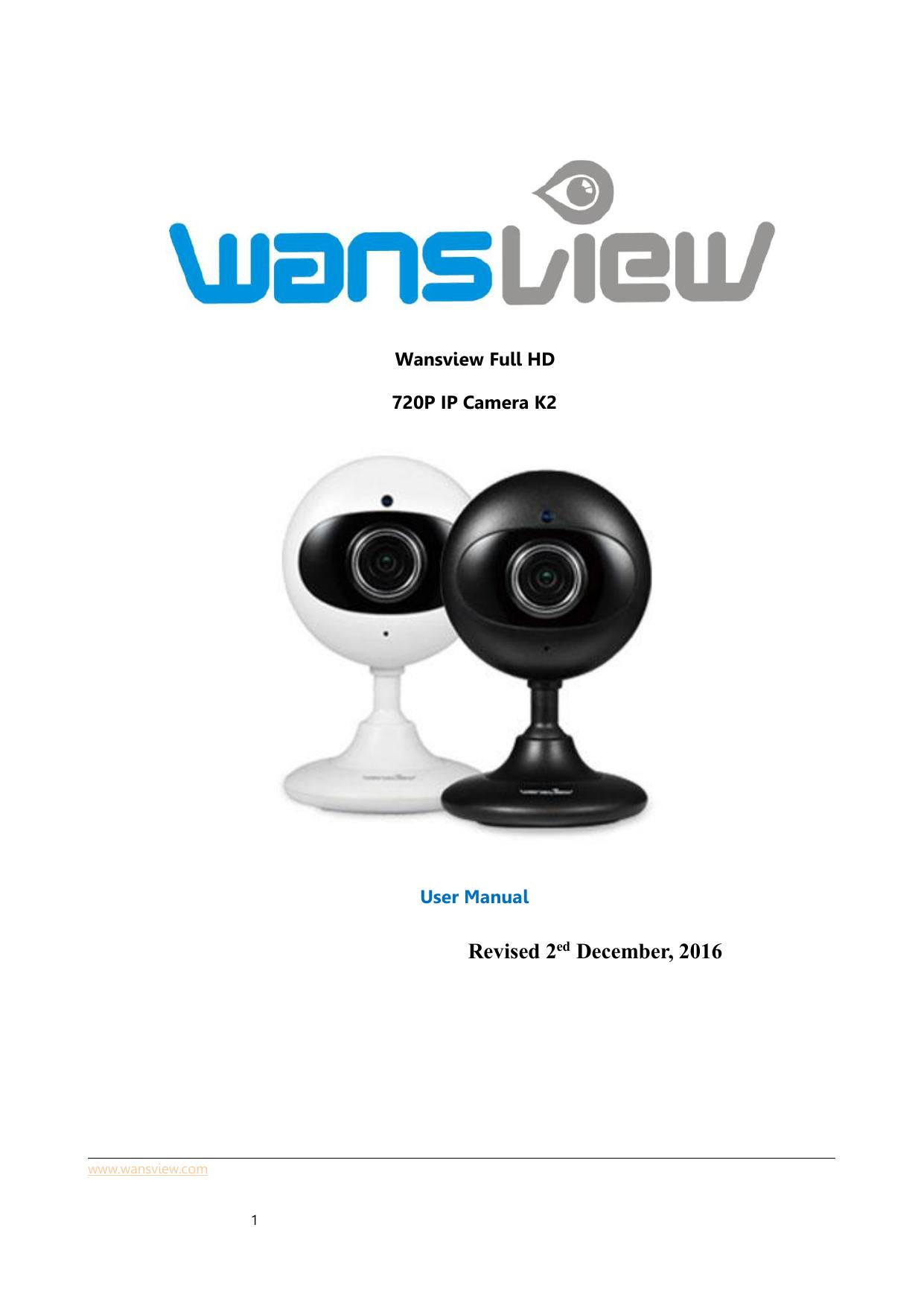 Wansview Pro HD | manualzz com