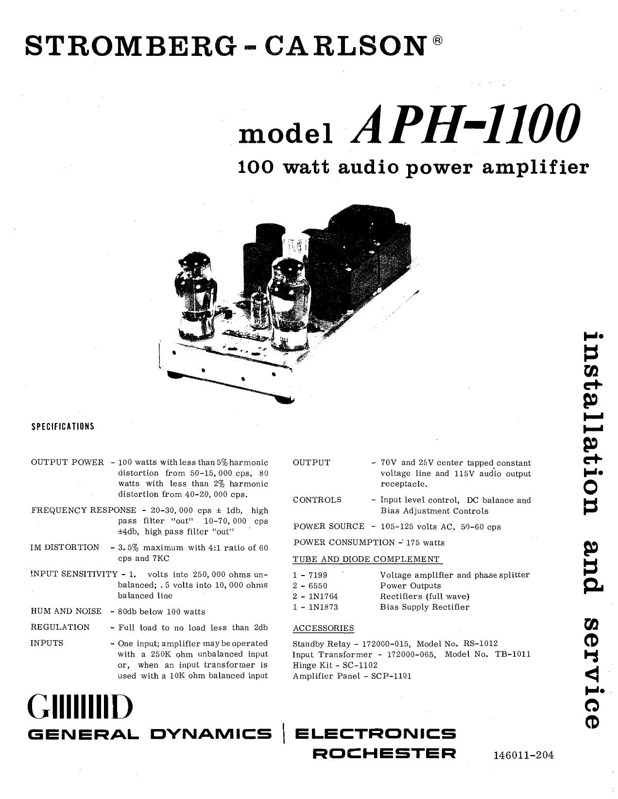 niodel APH-1100 = Ol | manualzz com
