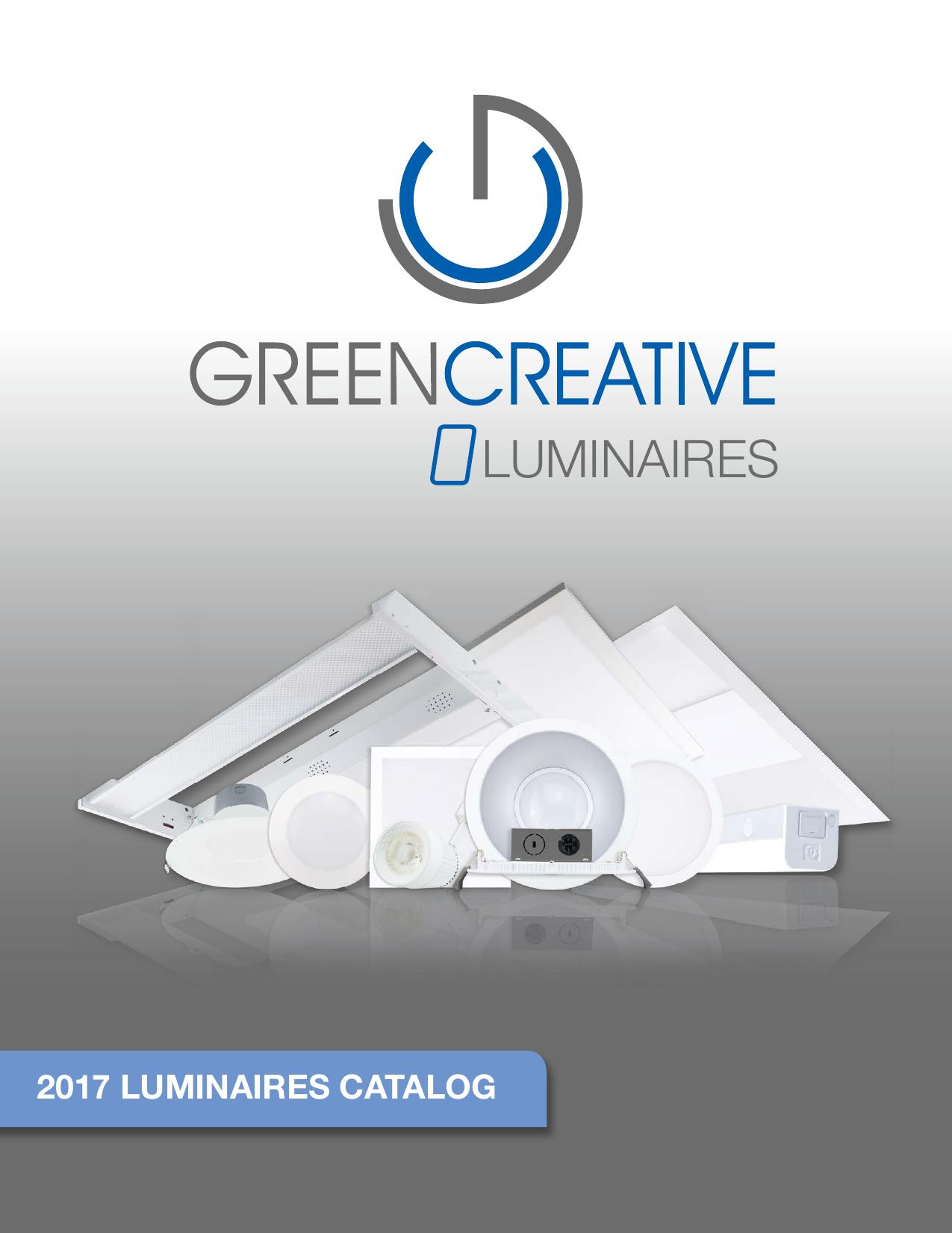 Dimmable 25W Green Creative 28339 2X2 Troffer DLC Premium 4000K Daylight White 3600 lm