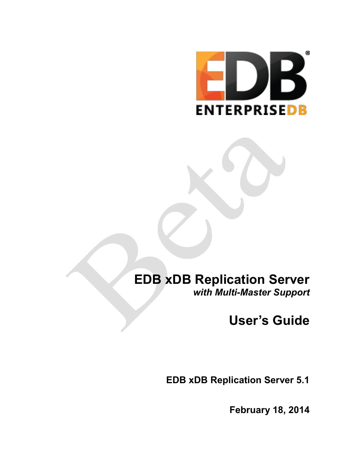 Postgres Plus xDB Replication Server User`s Guide | manualzz com