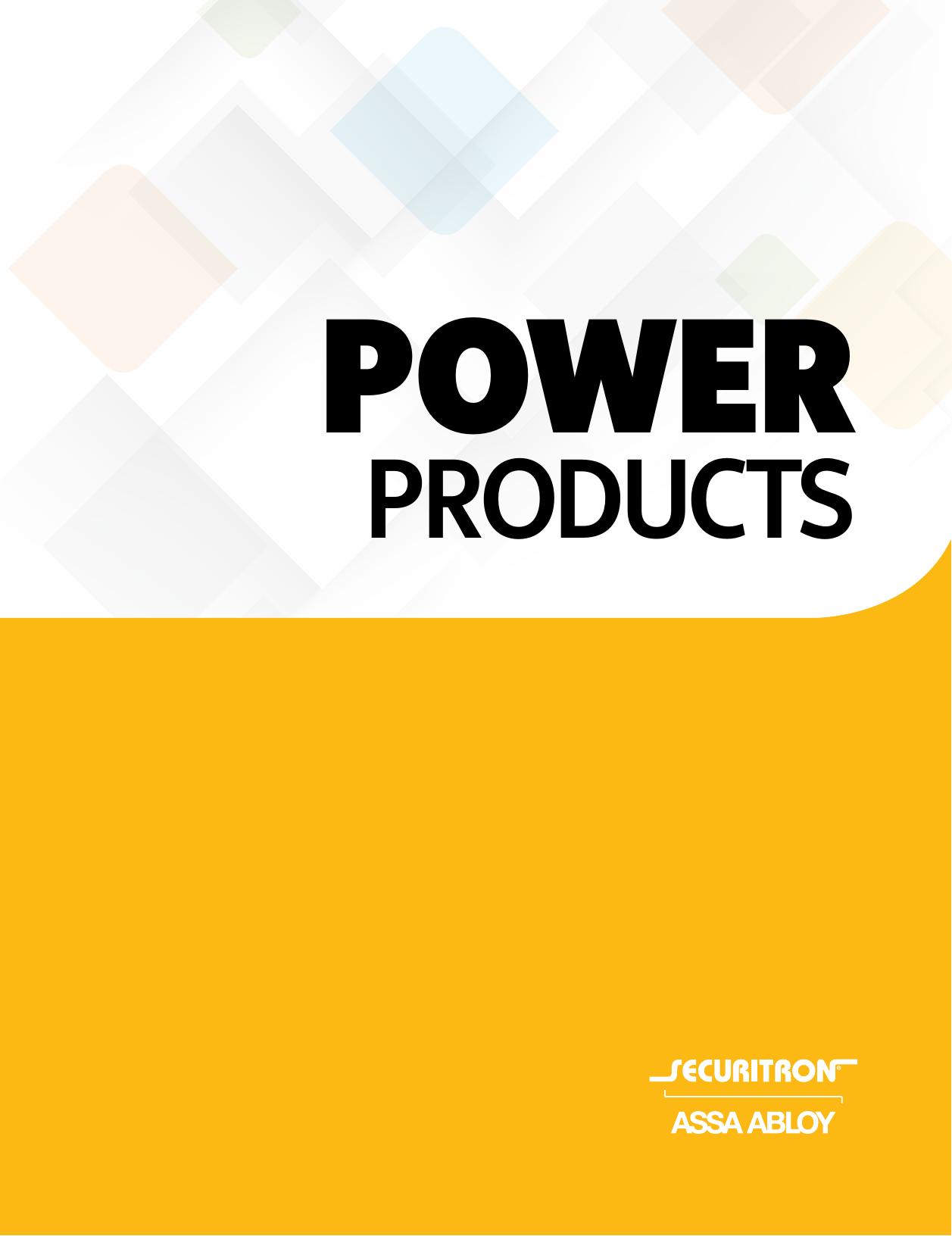 Securitron AQU243-8C1R Power Supply 3 Ampere//24V DC