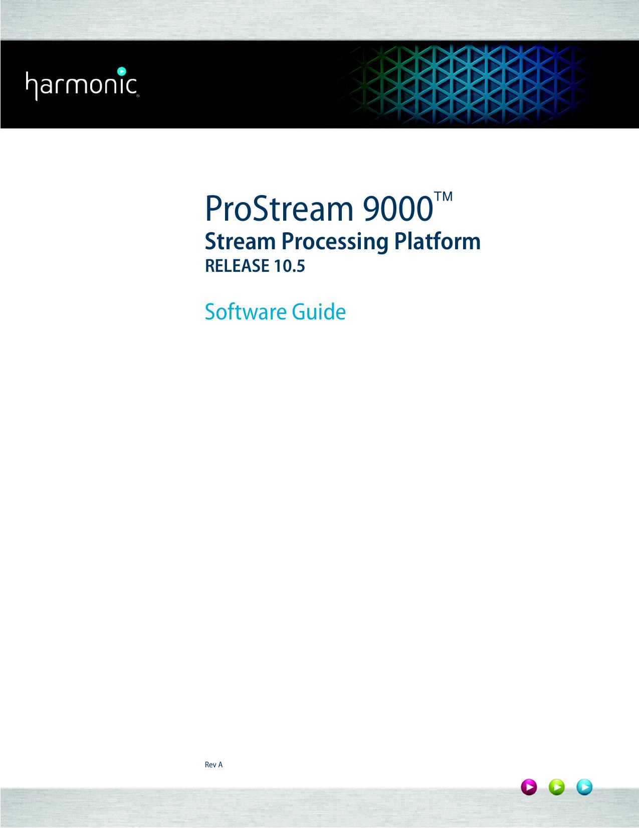 ProStream 9000 10 5 UserGuide RevA book | manualzz com