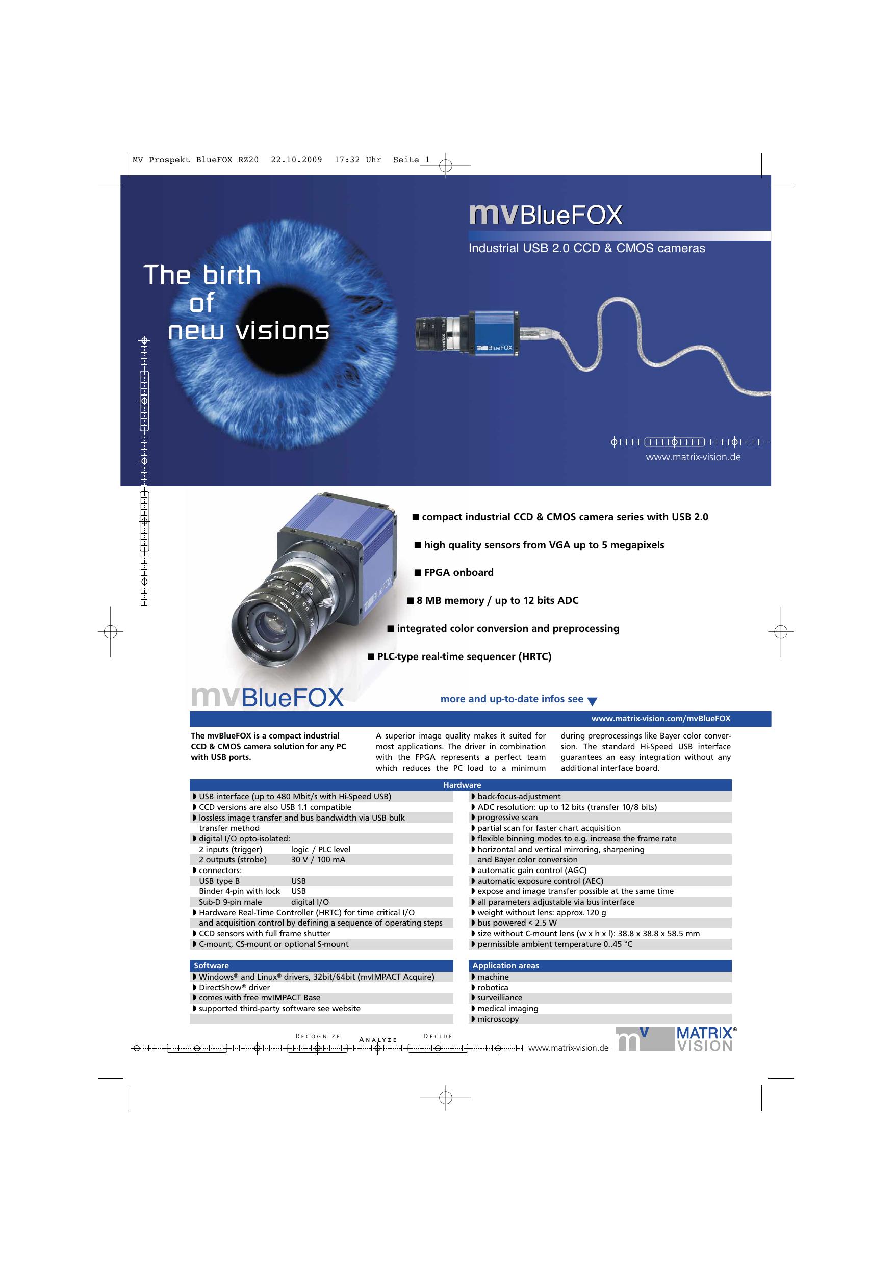 mvBlueFOX | manualzz com