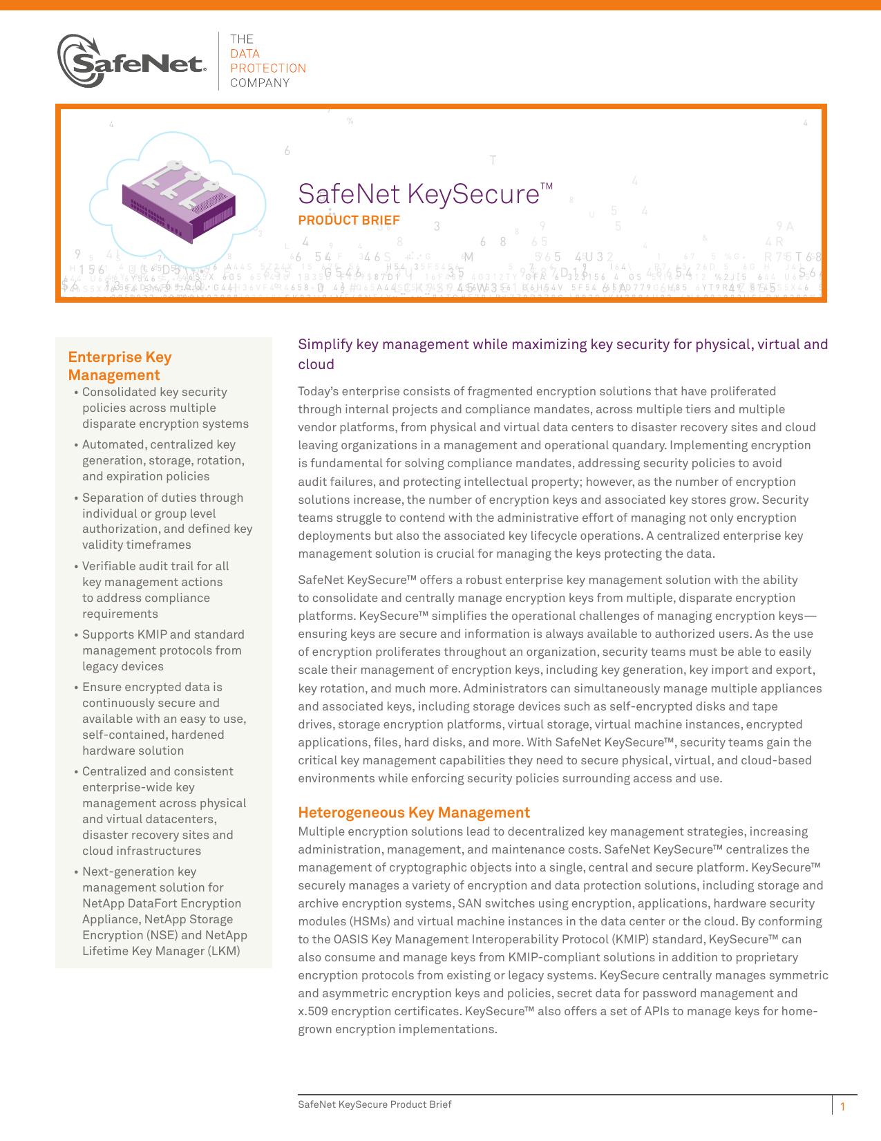 SafeNet KeySecure   manualzz com