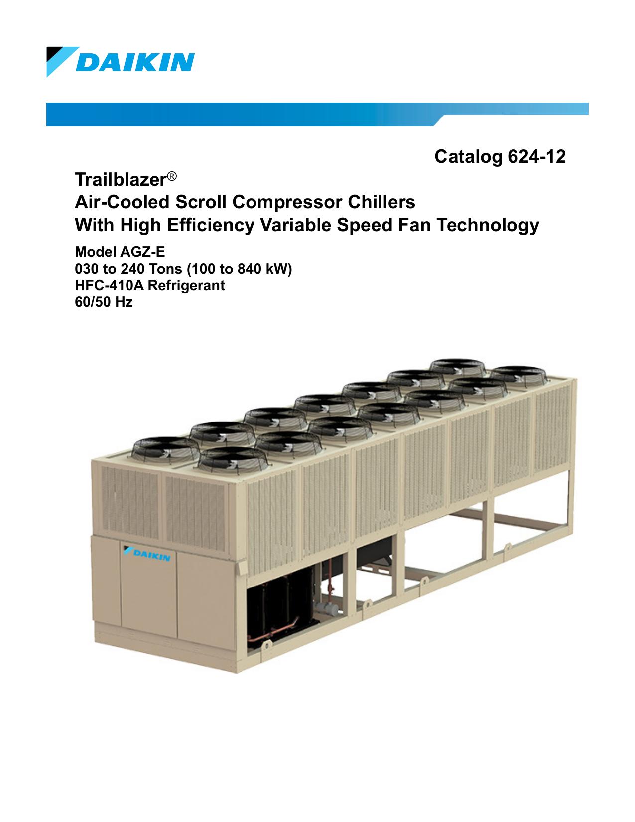 Catalog 624-12 Trailblazer® Air-Cooled Scroll | manualzz com