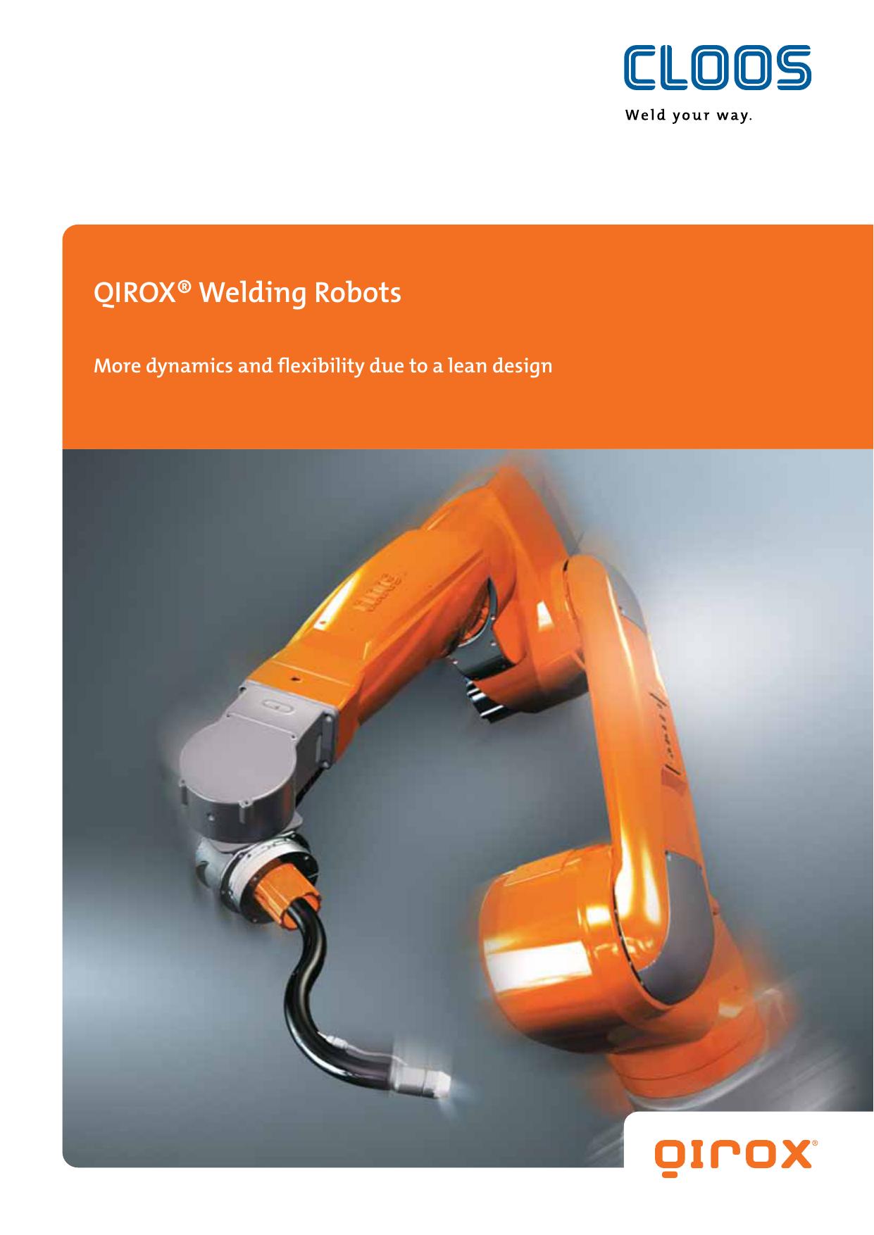 QIROX® Welding Robots | manualzz com