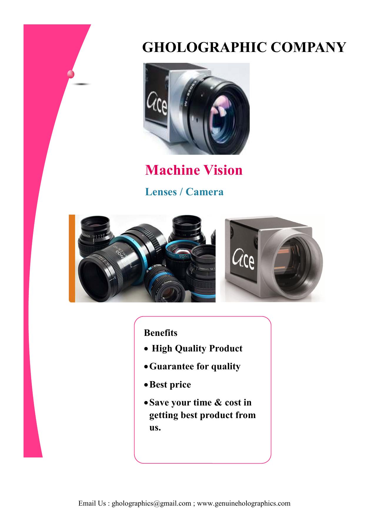 Machine Vision catalog | manualzz com