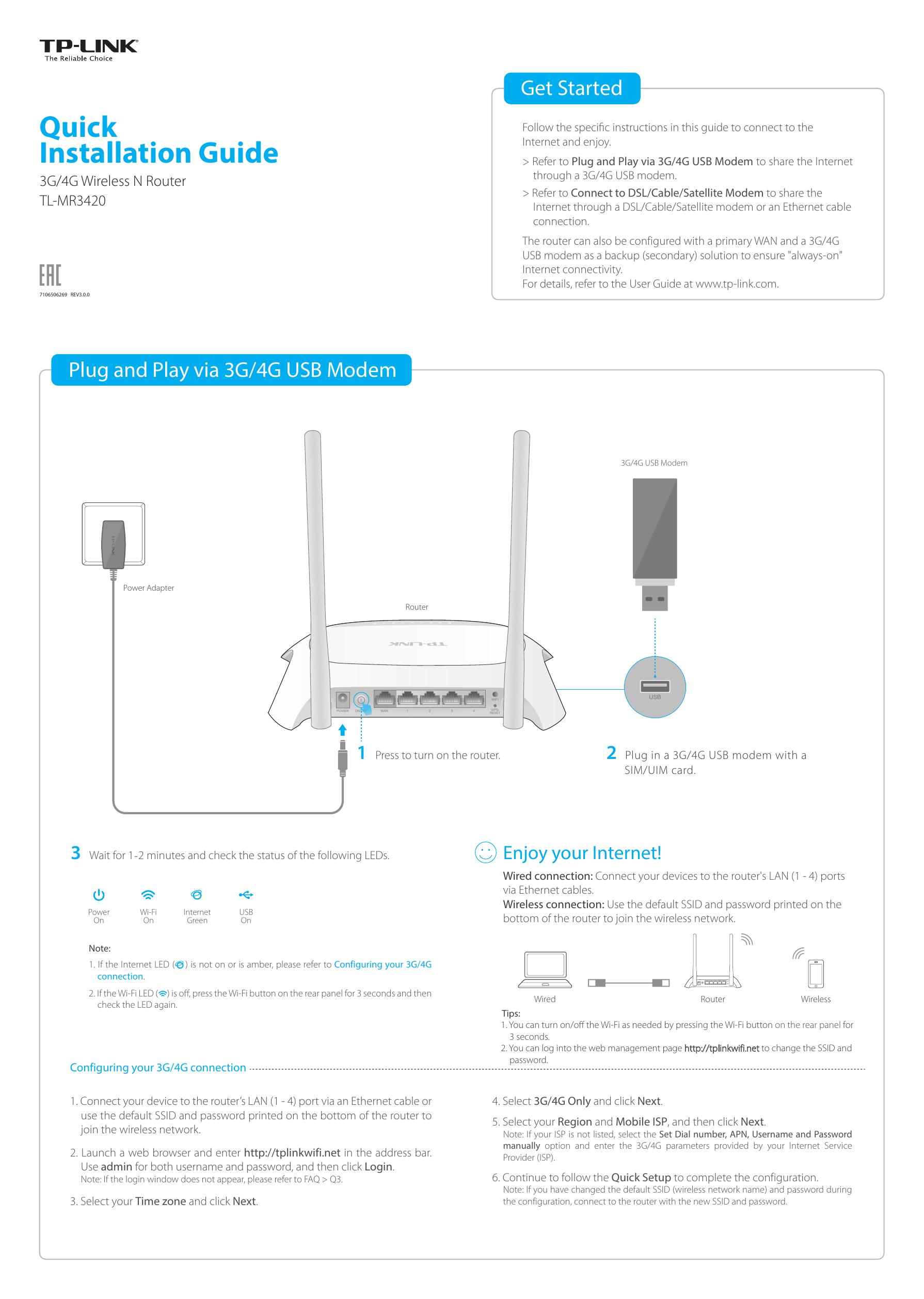 Quick Installation Guide - TP-Link   manualzz com