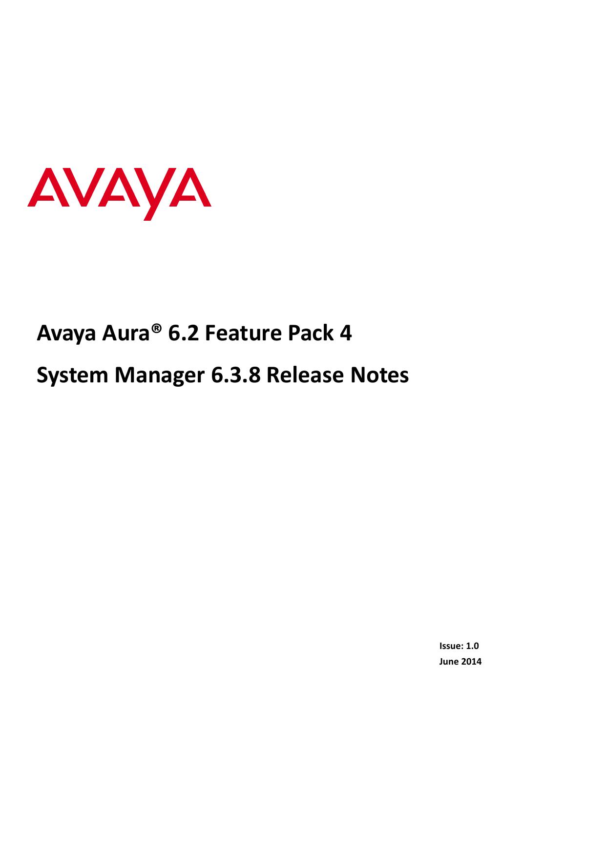 System Manager 6 3 8 Release Notes | manualzz com