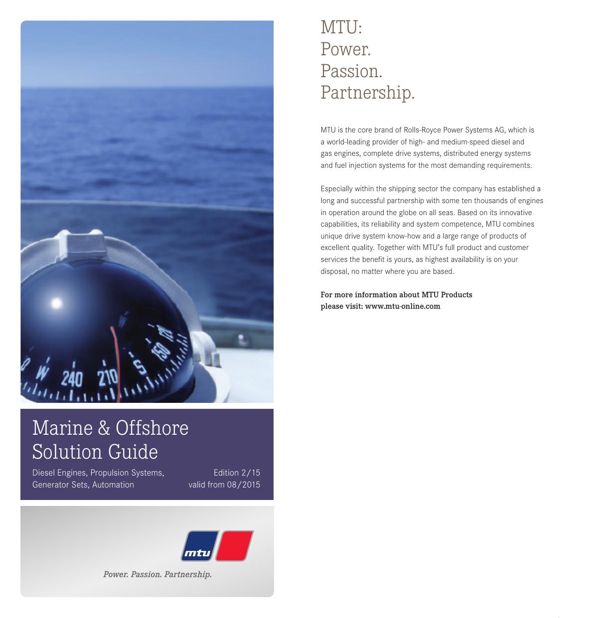 MTU Marine Sales Program | manualzz com