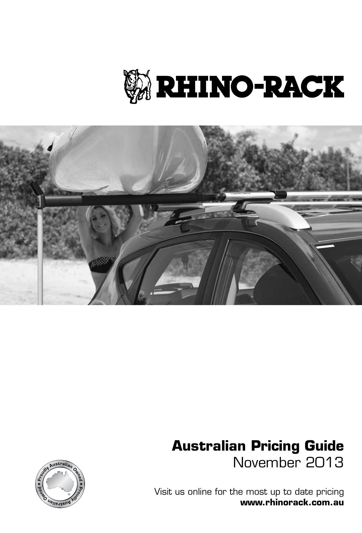 100mm Conduit Reinforced End Cap BCW-C Rhino Roof Rack