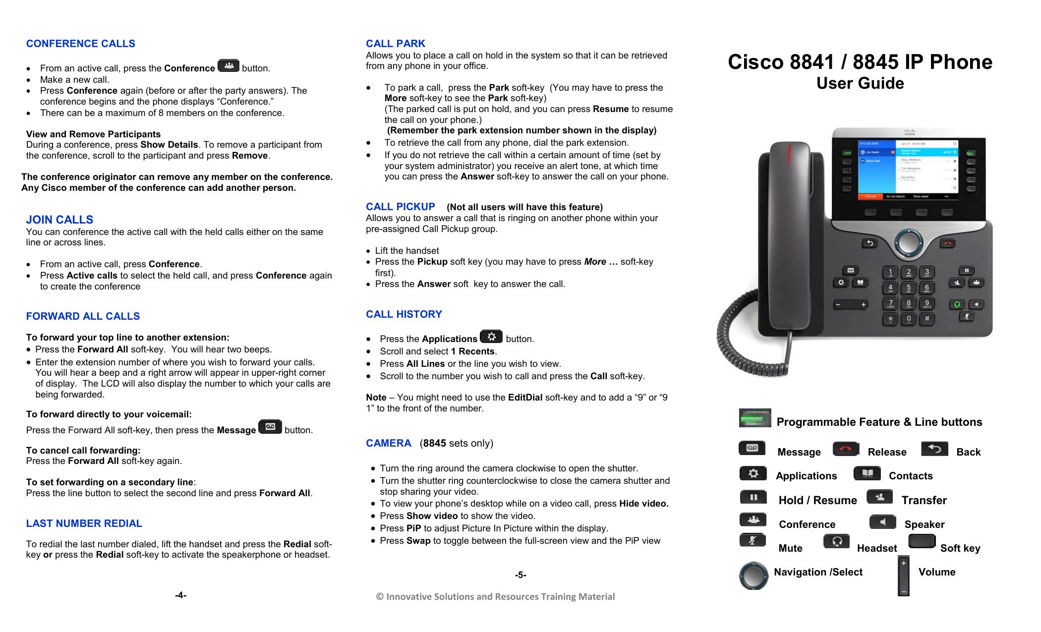 Cisco 8841 / 8845 IP Phone | manualzz com