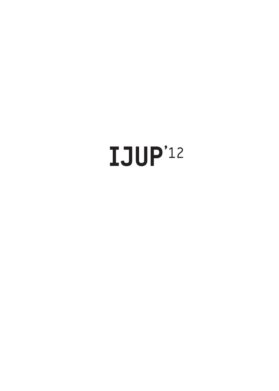 f239e1d2130 IJUP`12 - Universidade do Porto