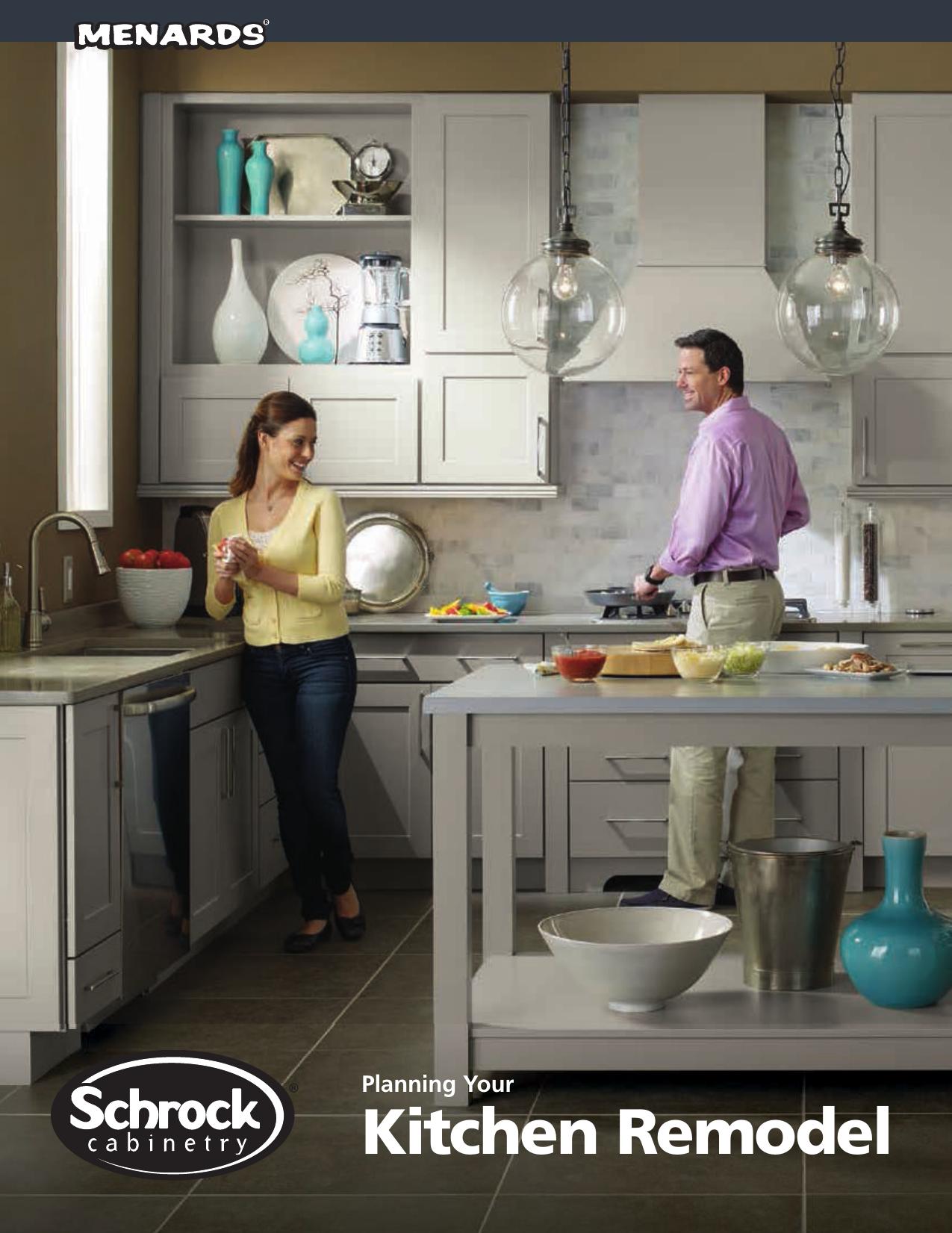 Kitchen Remodel - Schrock At Menards | manualzz com