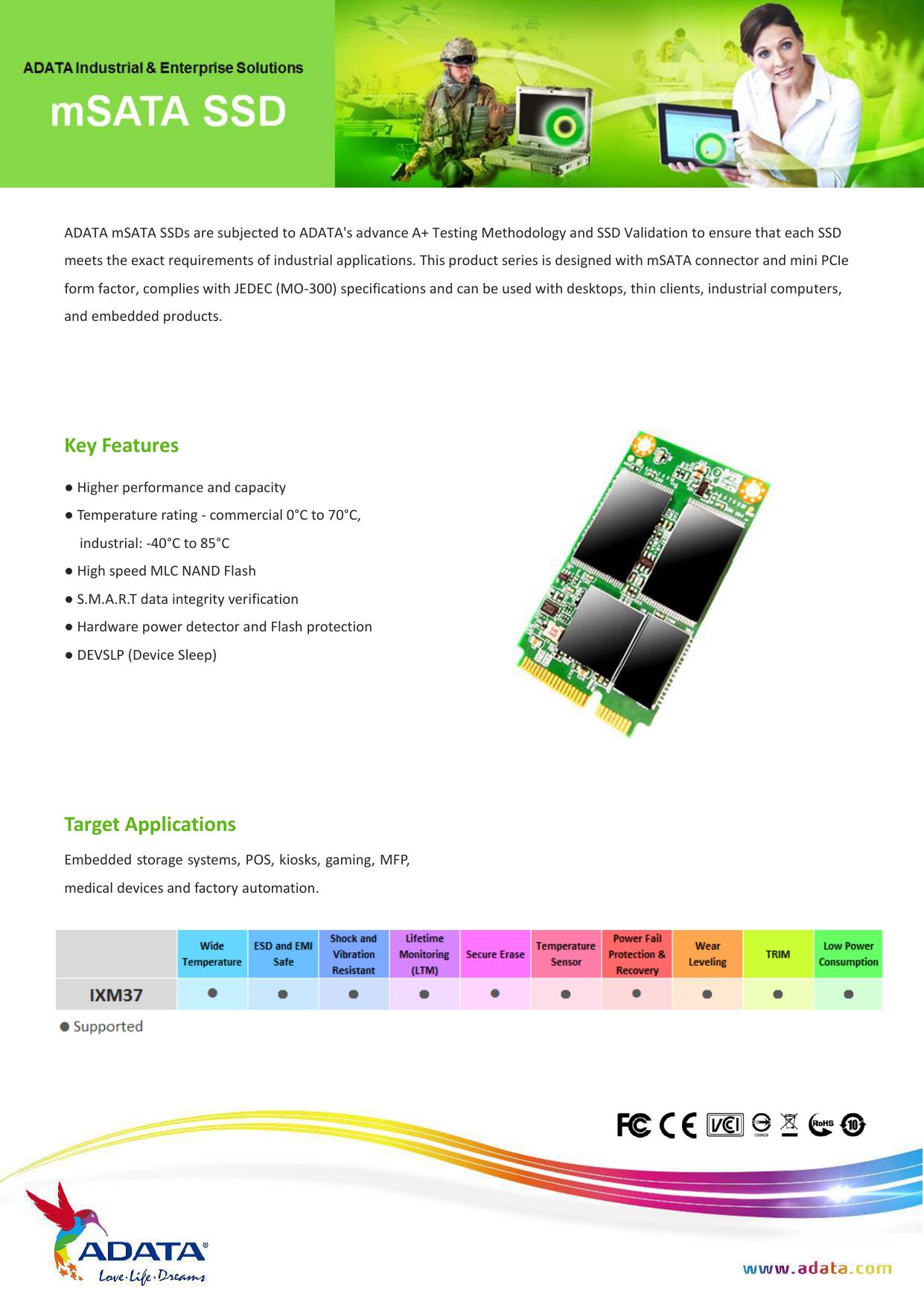 Key Features Target Applications   manualzz com