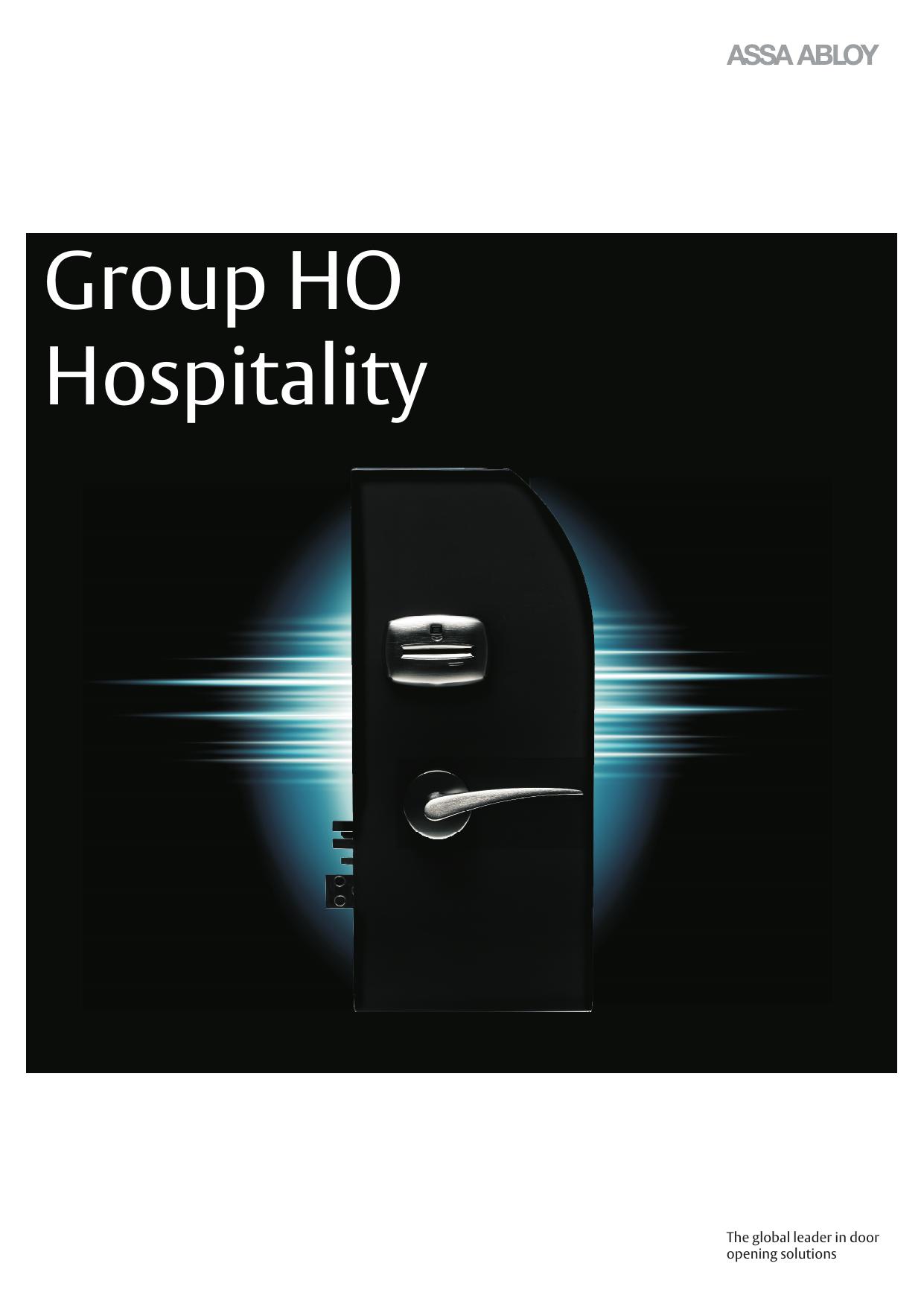 Group HO - Hospitality cdr | manualzz com