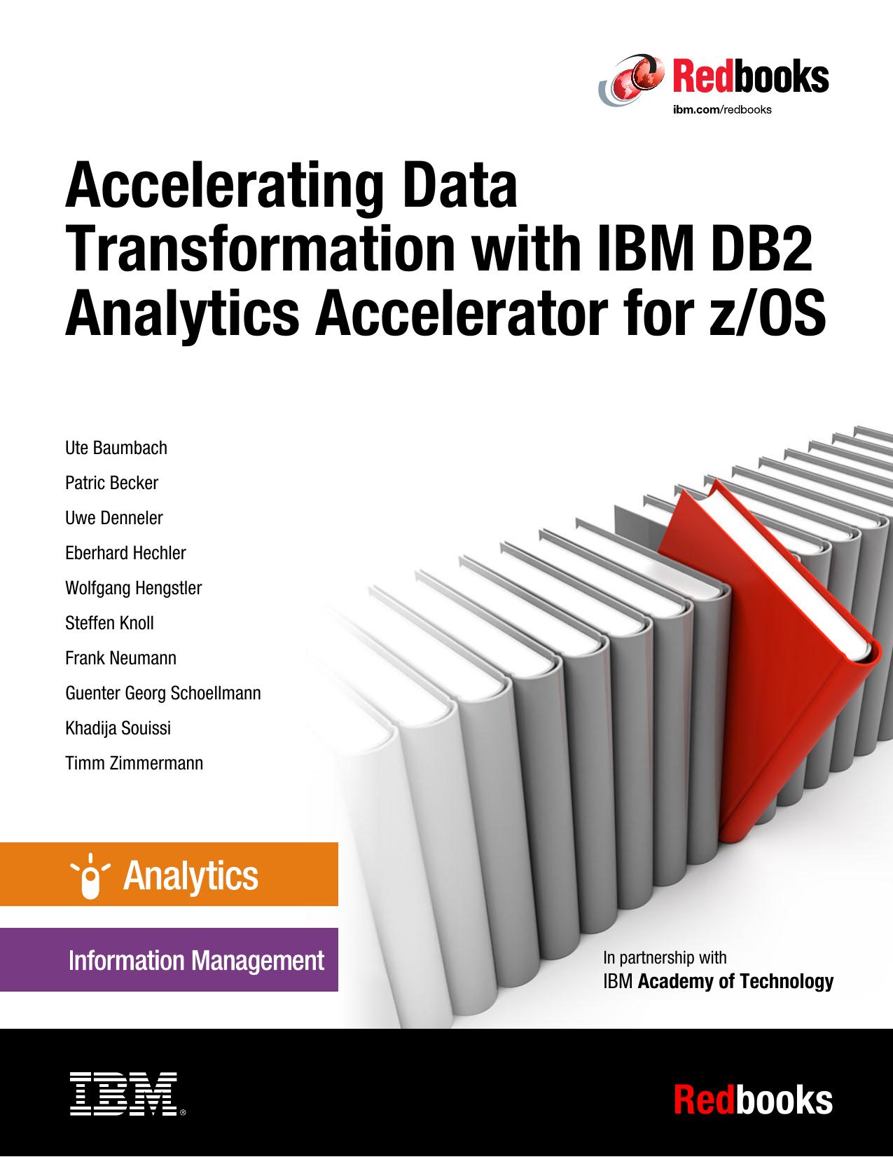 Accelerating Data Transformation with IBM DB2 | manualzz com