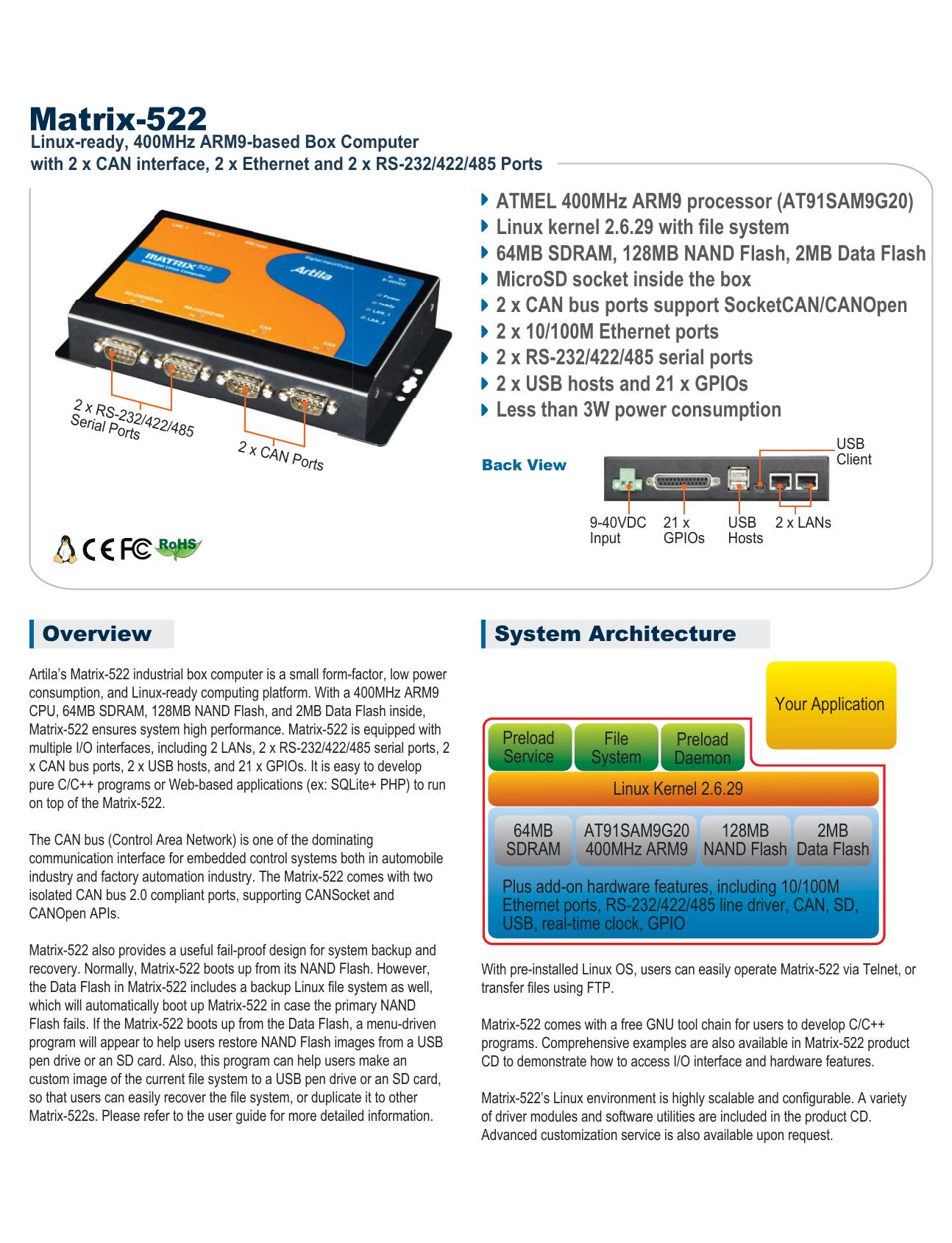 Matrix-522 - BlueNote Communications | manualzz com