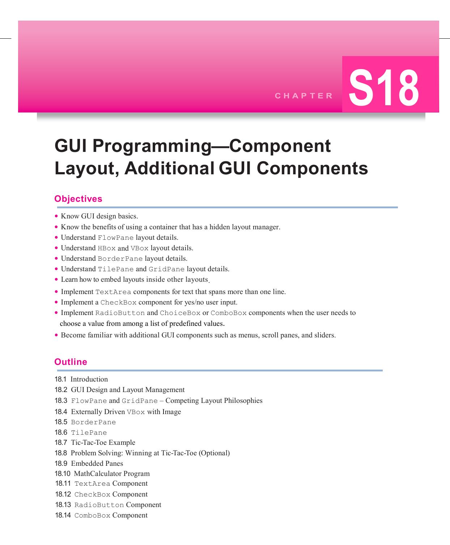GUI Programming—Component Layout | manualzz com