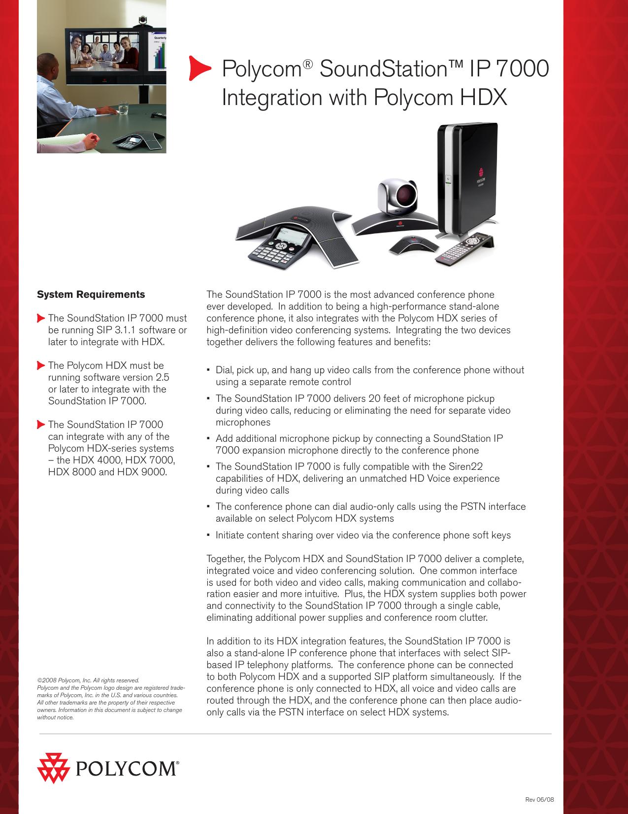 Polycom® SoundStation™ IP 7000 | manualzz com