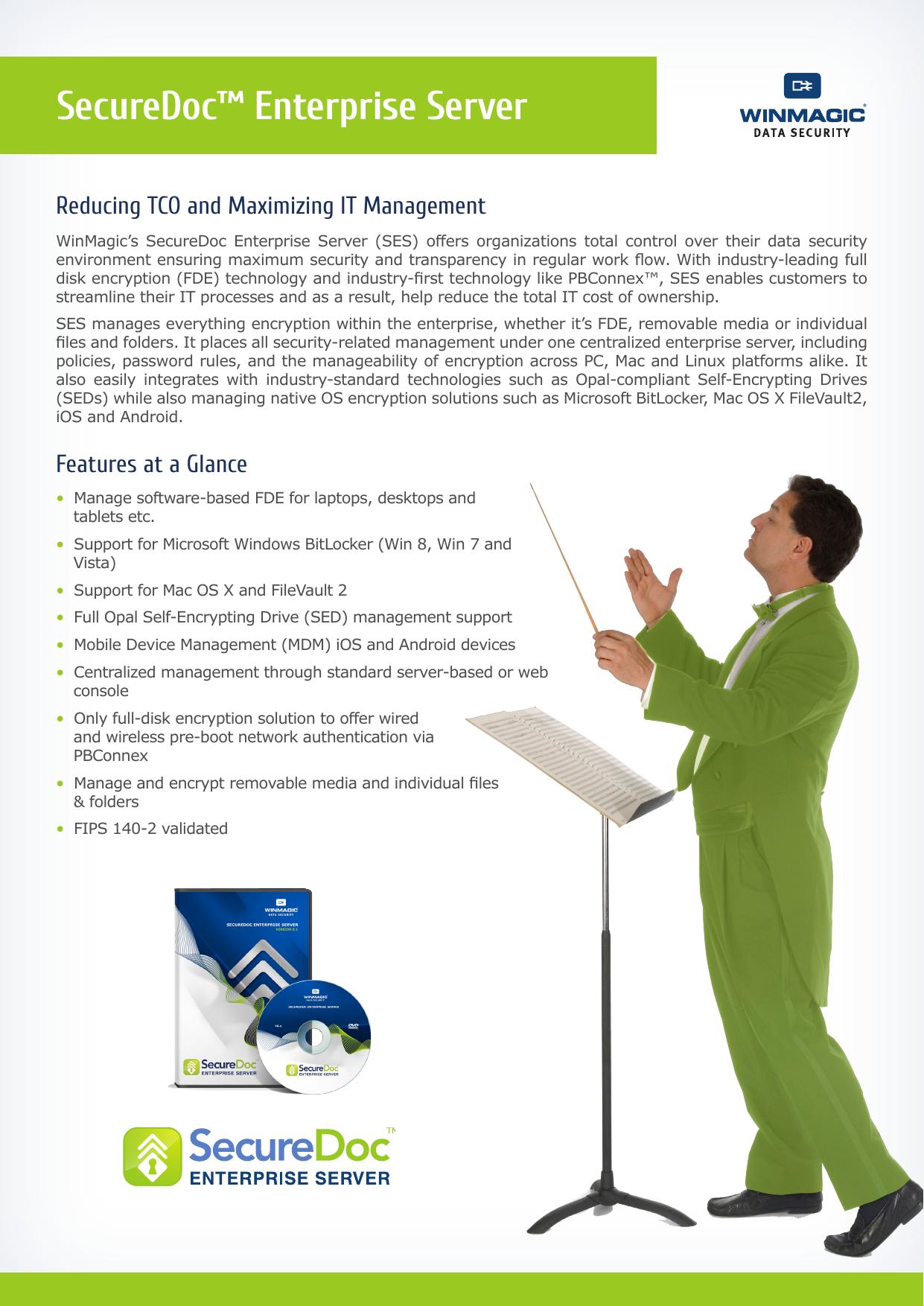 SecureDoc™ Enterprise Server | manualzz com