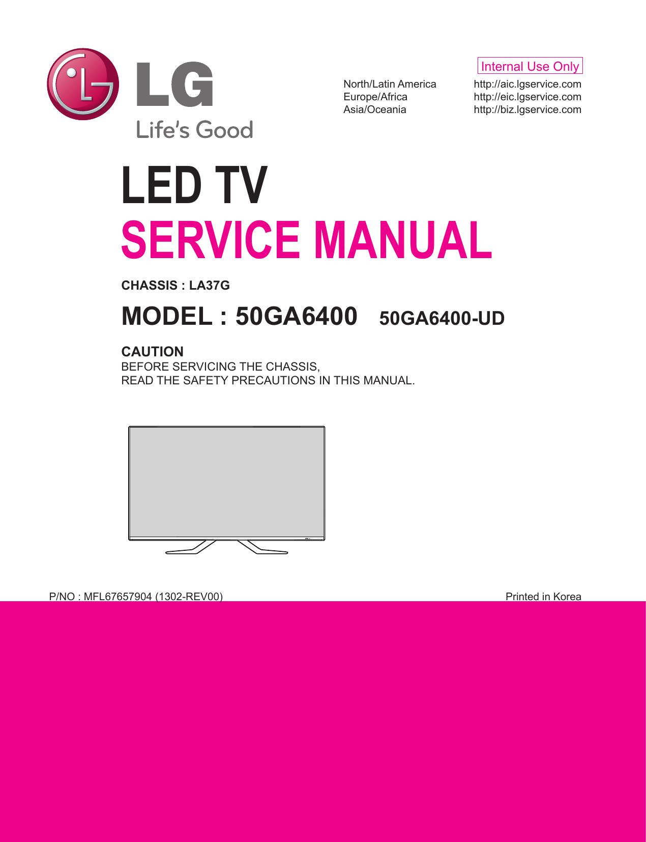 led tv service manual | manualzz com