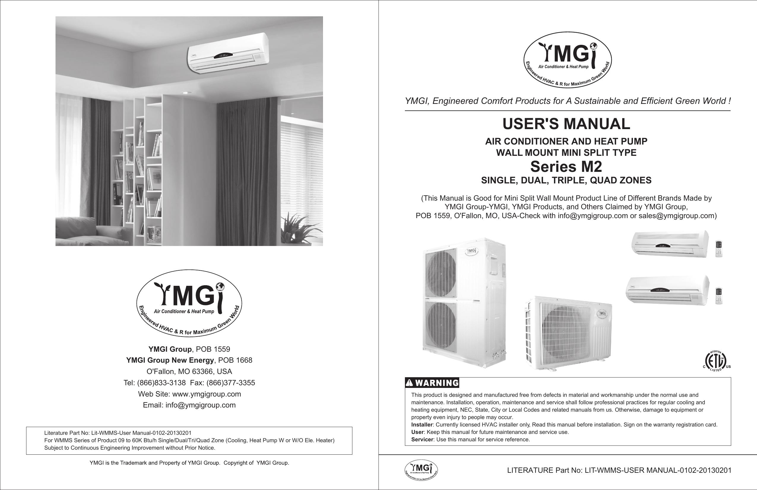 Series M2 Users Manual Ymgi Wiring Diagram