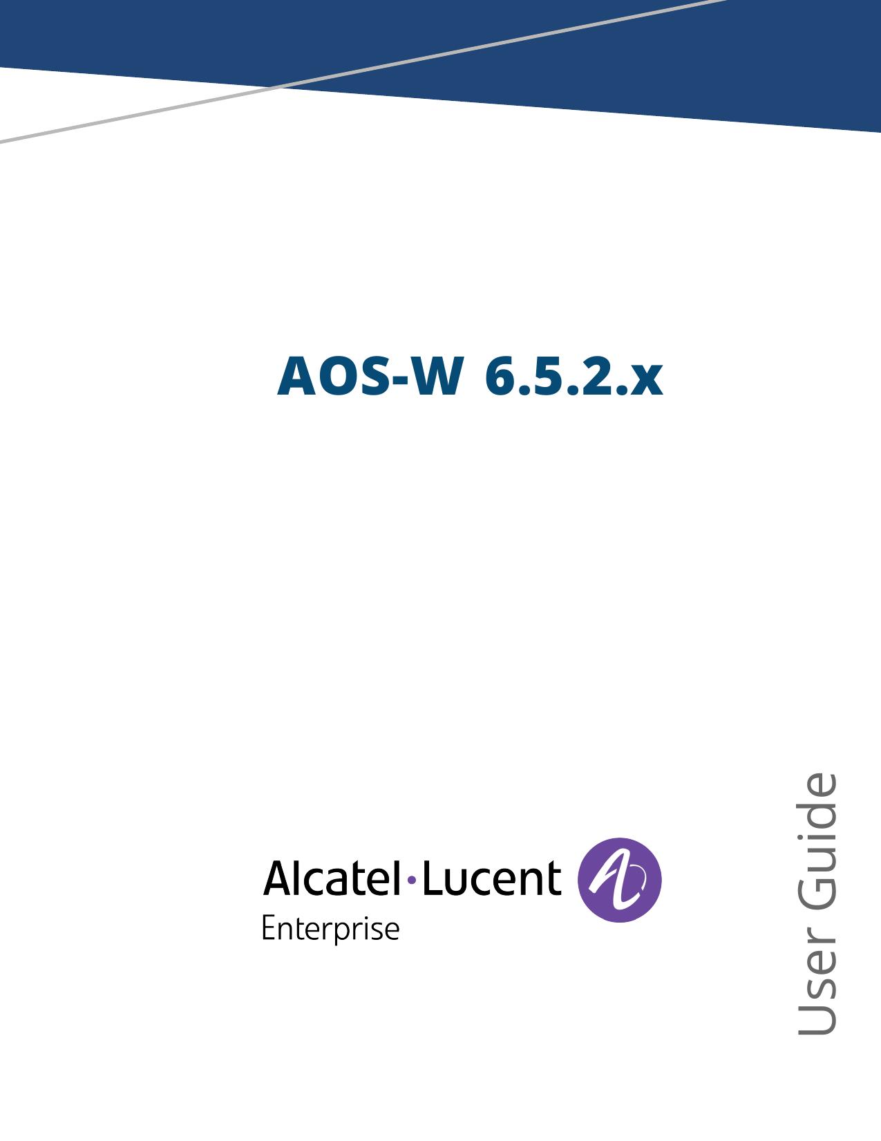 AOS-W 6 5 2 x User Guide | manualzz com
