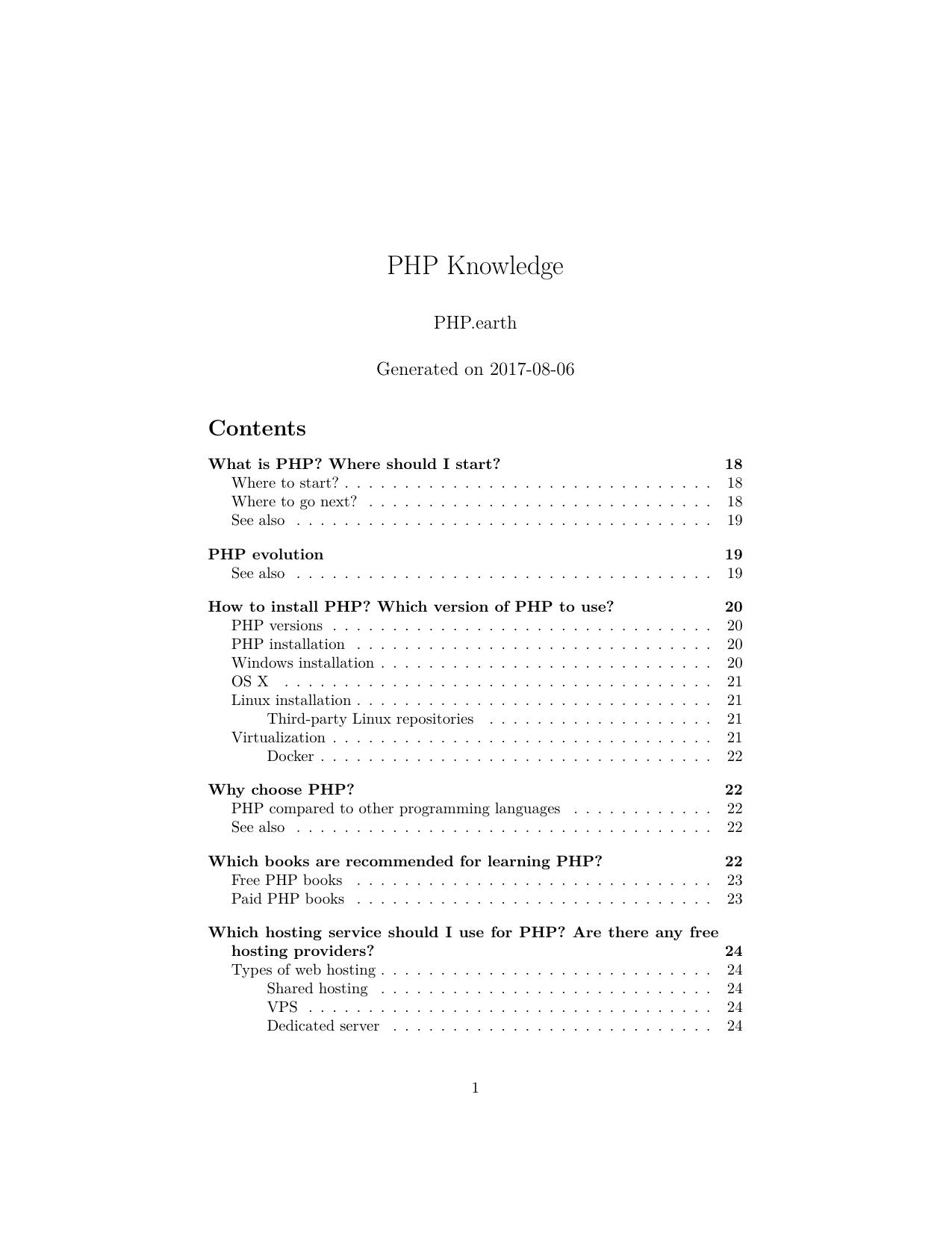 PHP Knowledge | manualzz com