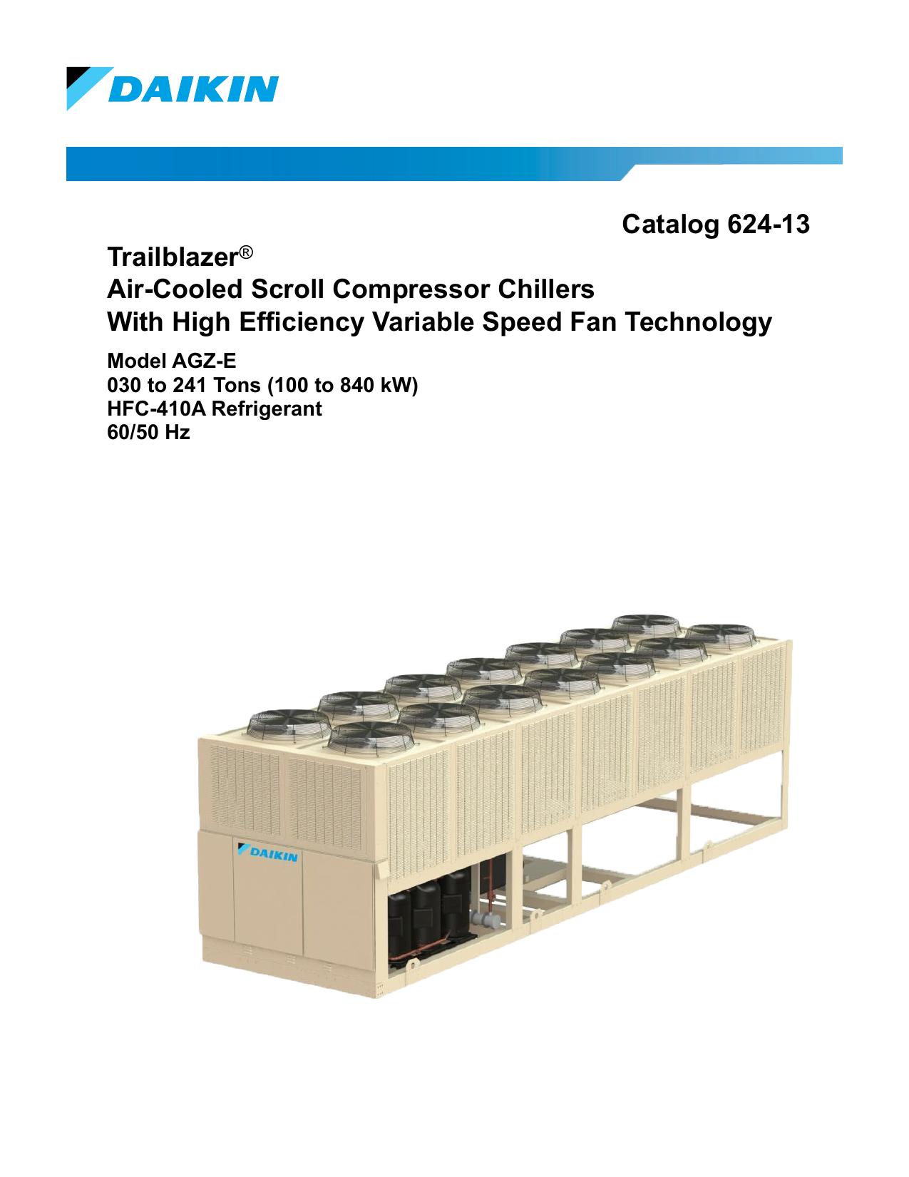 Catalog 624-13 Trailblazer® Air-Cooled Scroll | manualzz com