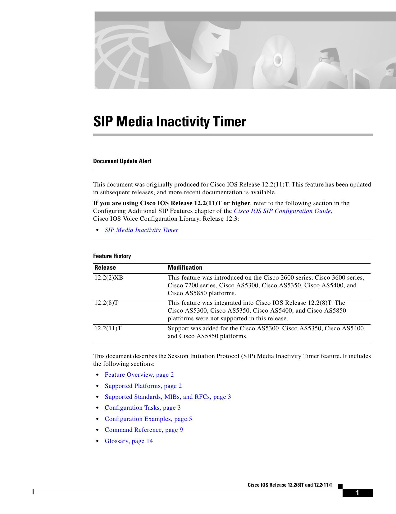 SIP Media Inactivity Timer | manualzz com