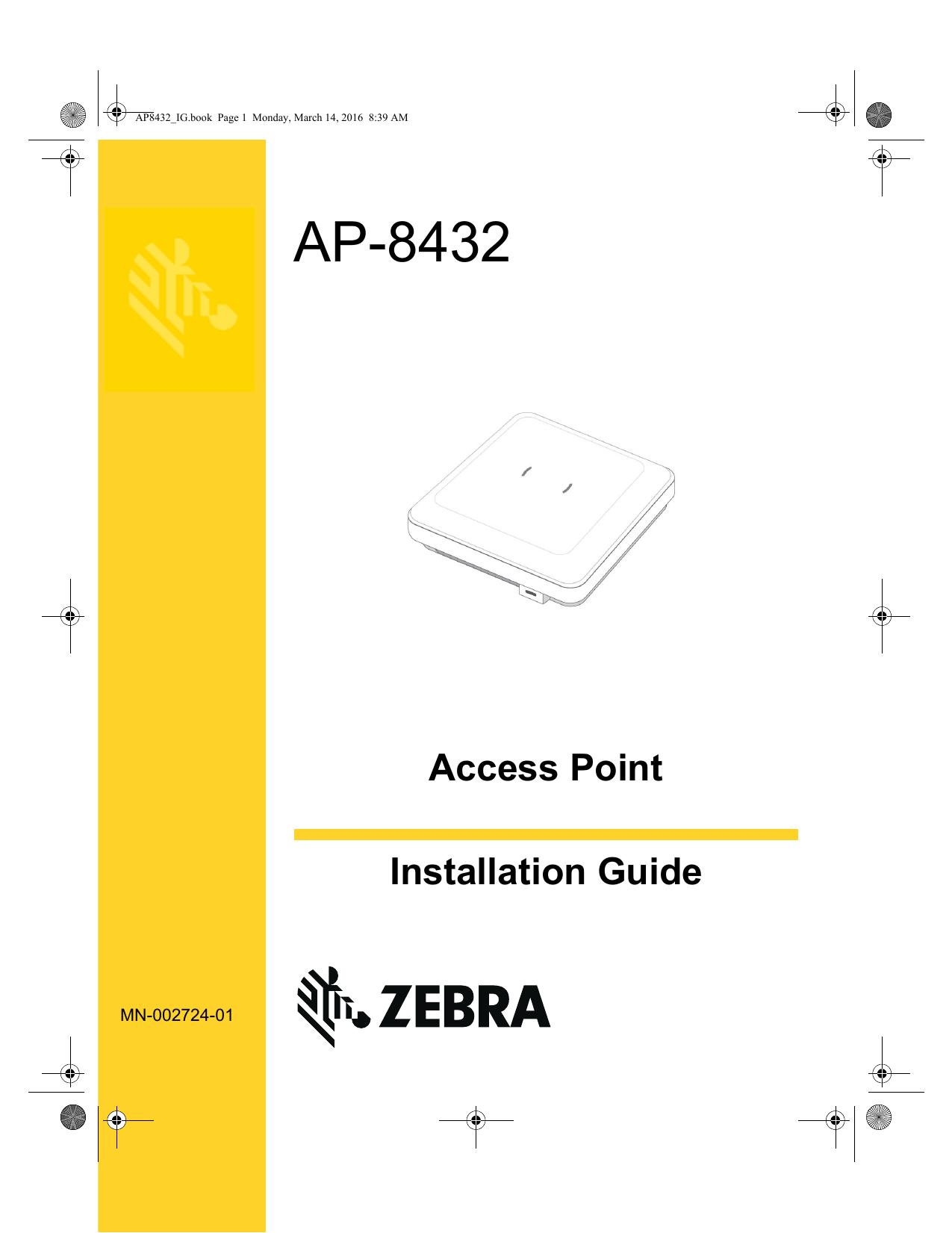 Zebra AP-PSBIAS-2P3-ATR PoE Injector