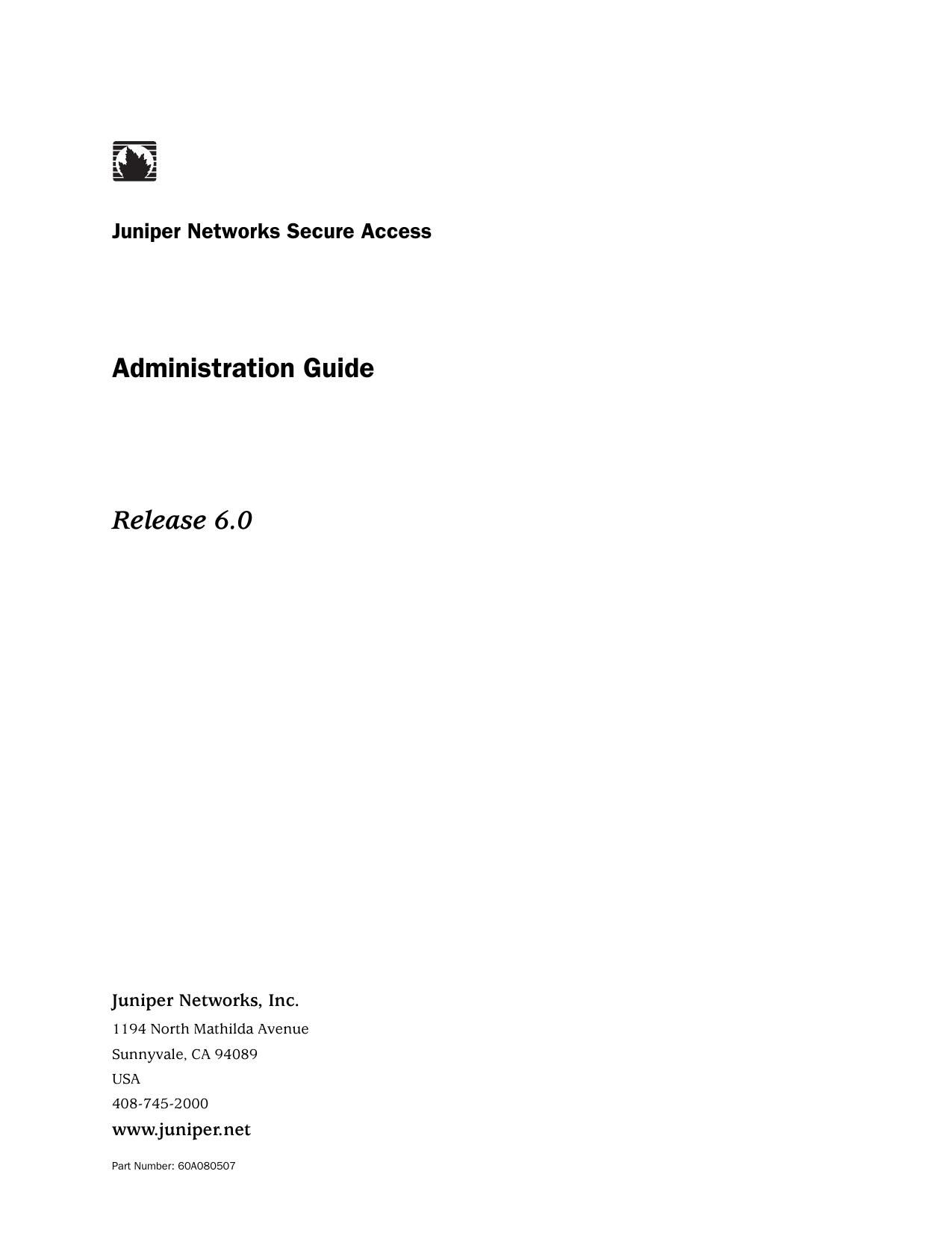 Secure Access Administration Guide | manualzz com