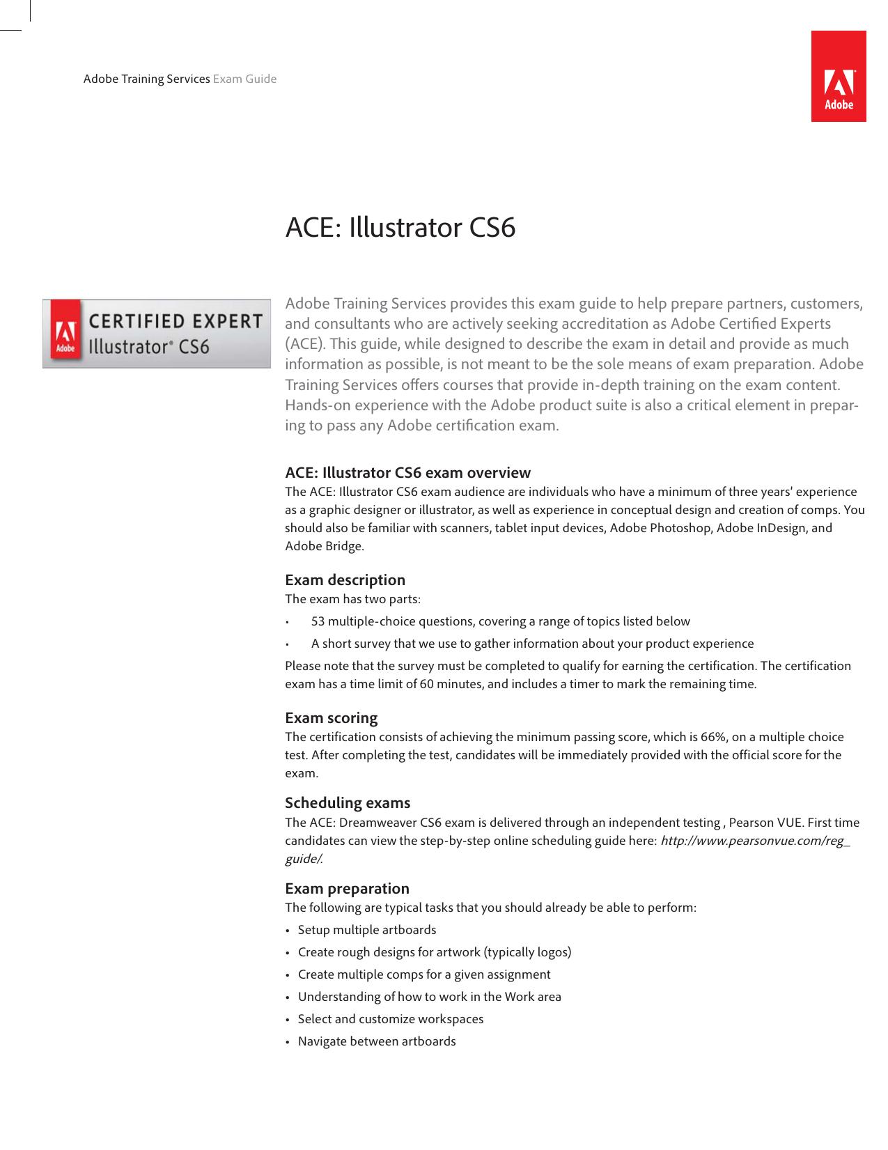 Ace Illustrator Cs6 Manualzz