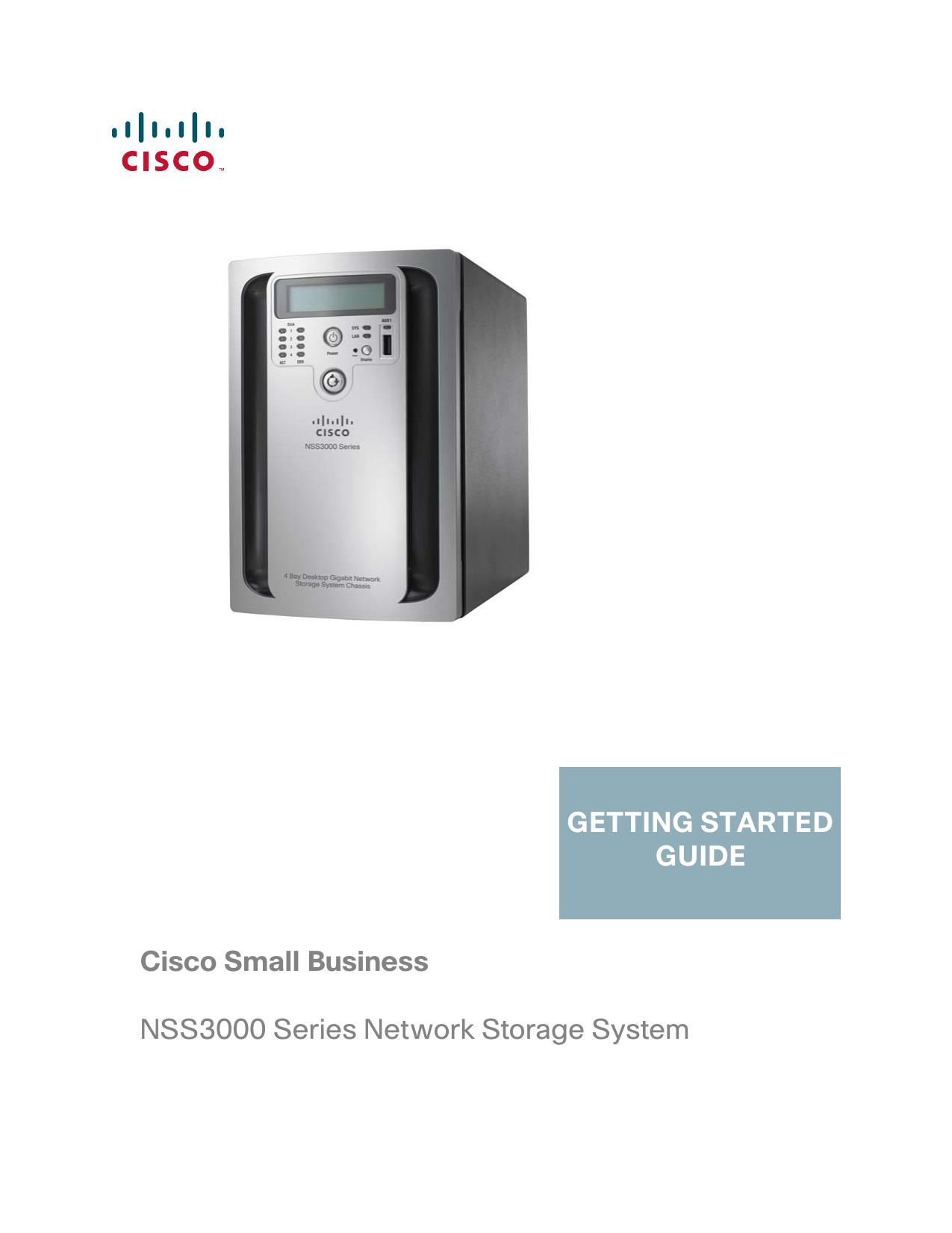 cisco nss3000 firmware