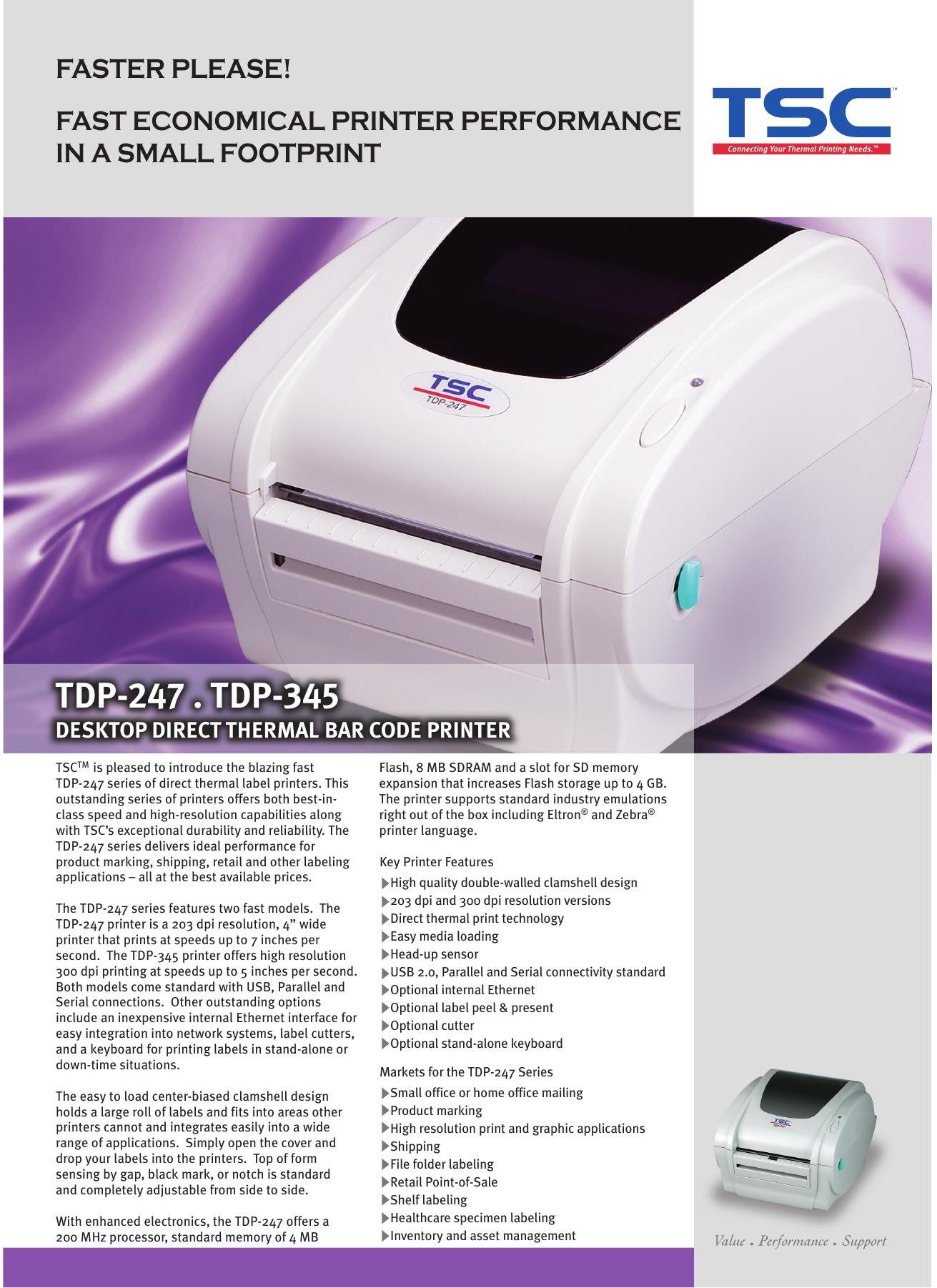 TDP-247   TDP-345 | manualzz com