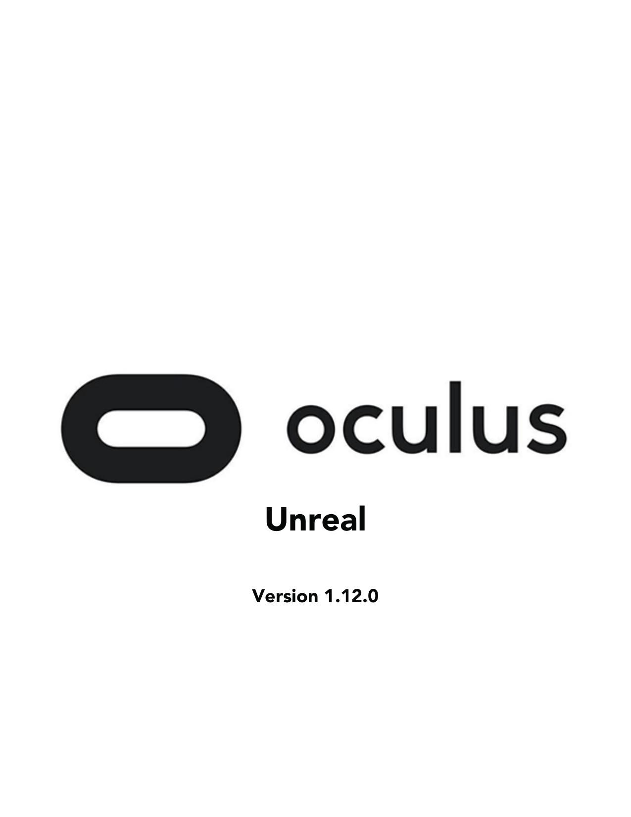 Unreal - Oculus | manualzz com