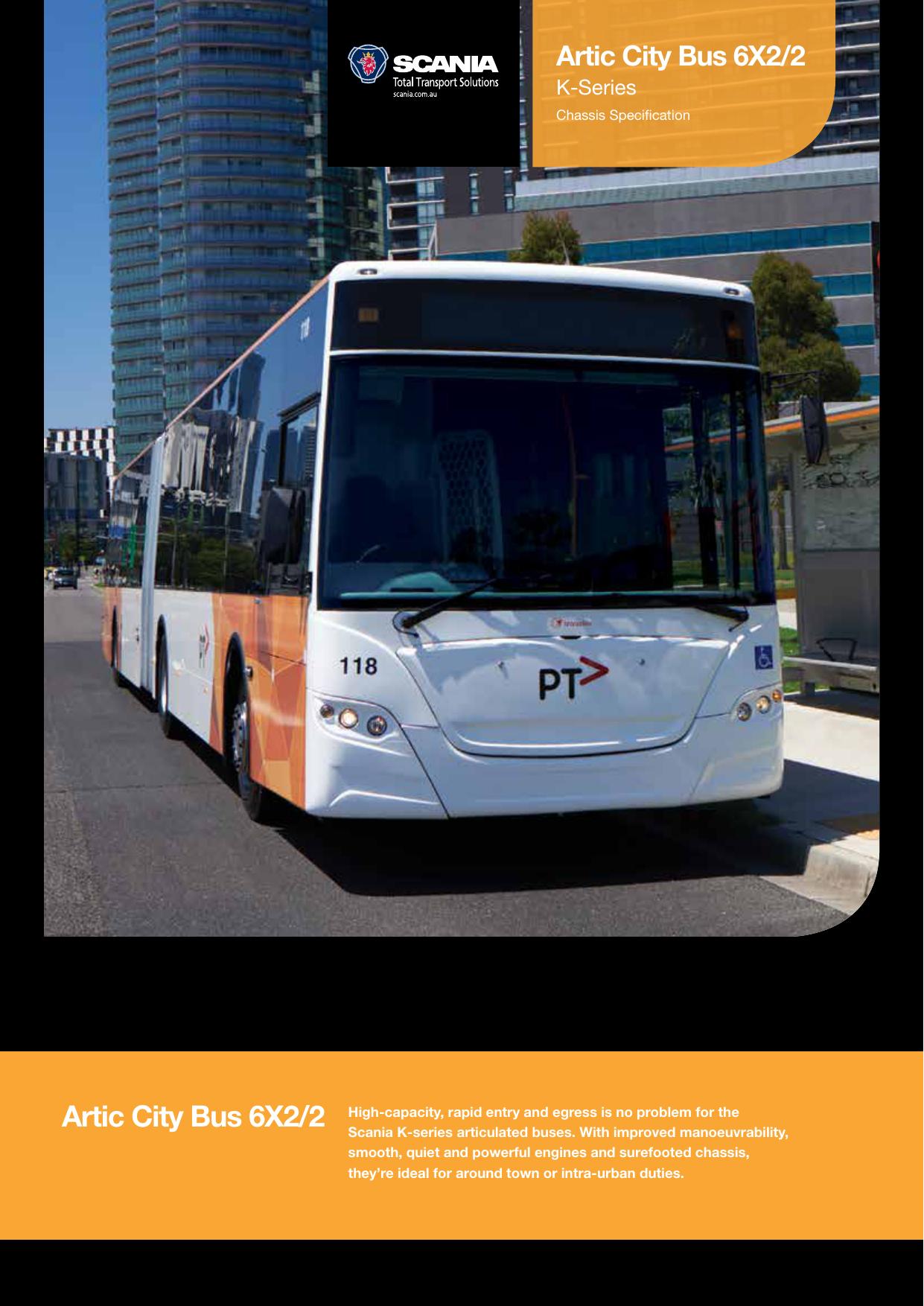 Artic City Bus 6X2/2 | manualzz com
