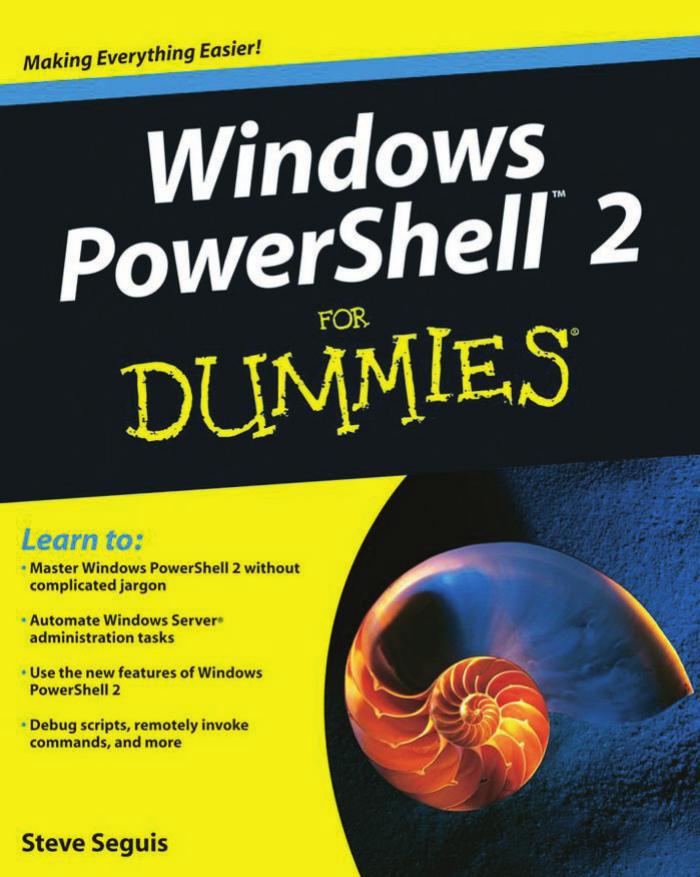 Windows Powershell 2 for Dummies - IT-DOCS | manualzz com