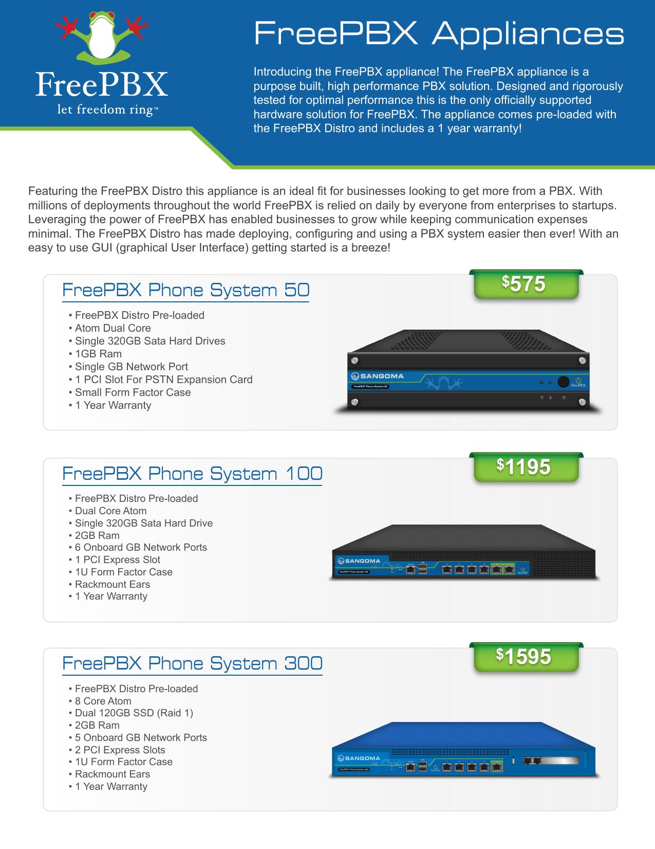 FreePBX Appliances SalesSlick   manualzz com