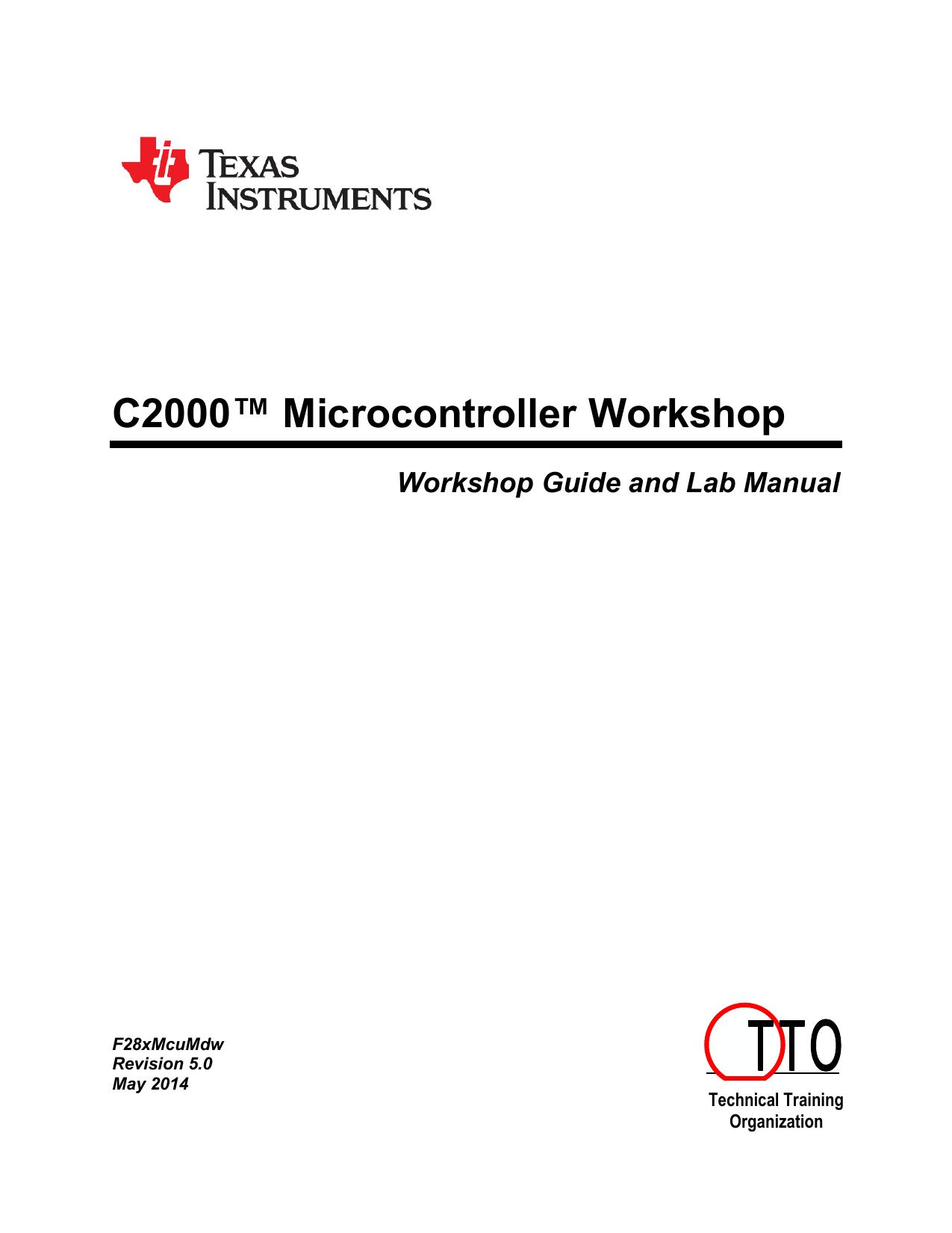 c2000 microcontroller workshop ti e2e community manualzz comc2000 microcontroller workshop ti e2e community
