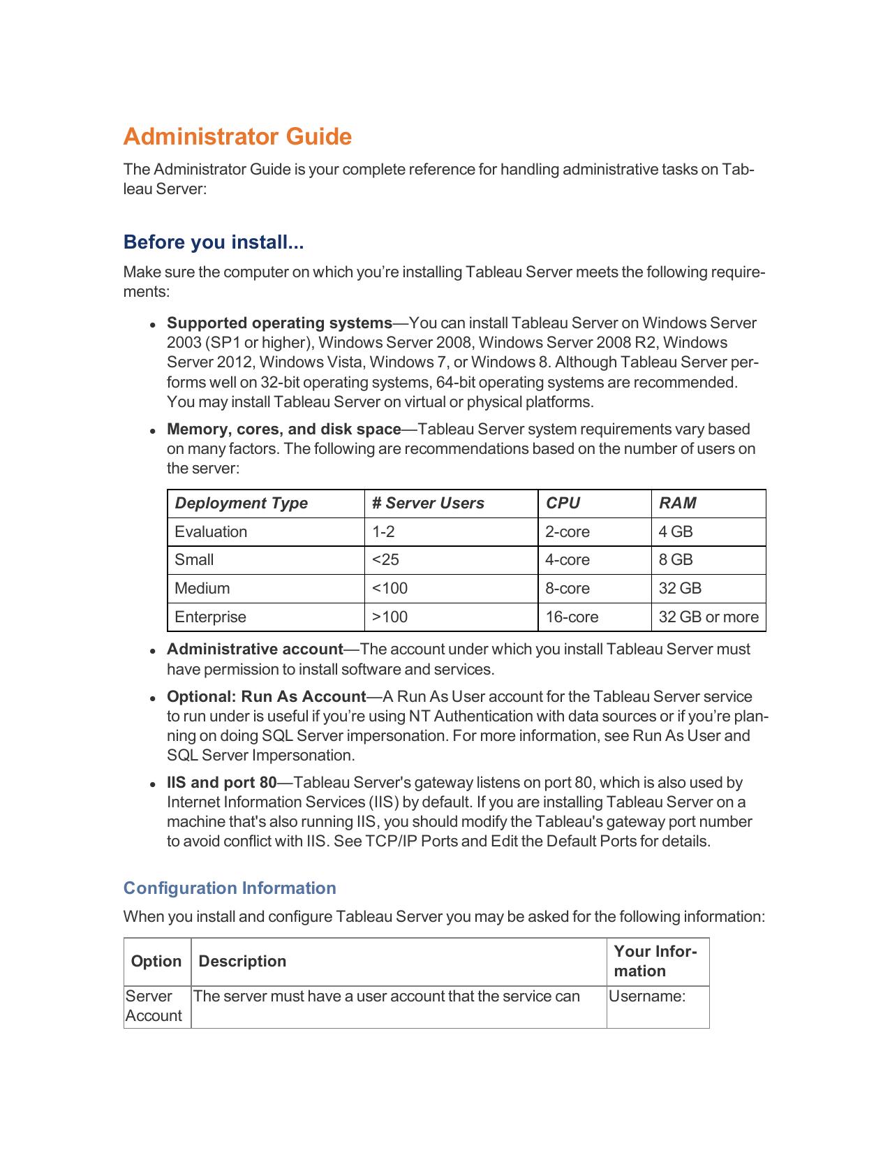 Tableau Server Administrator Guide   manualzz com
