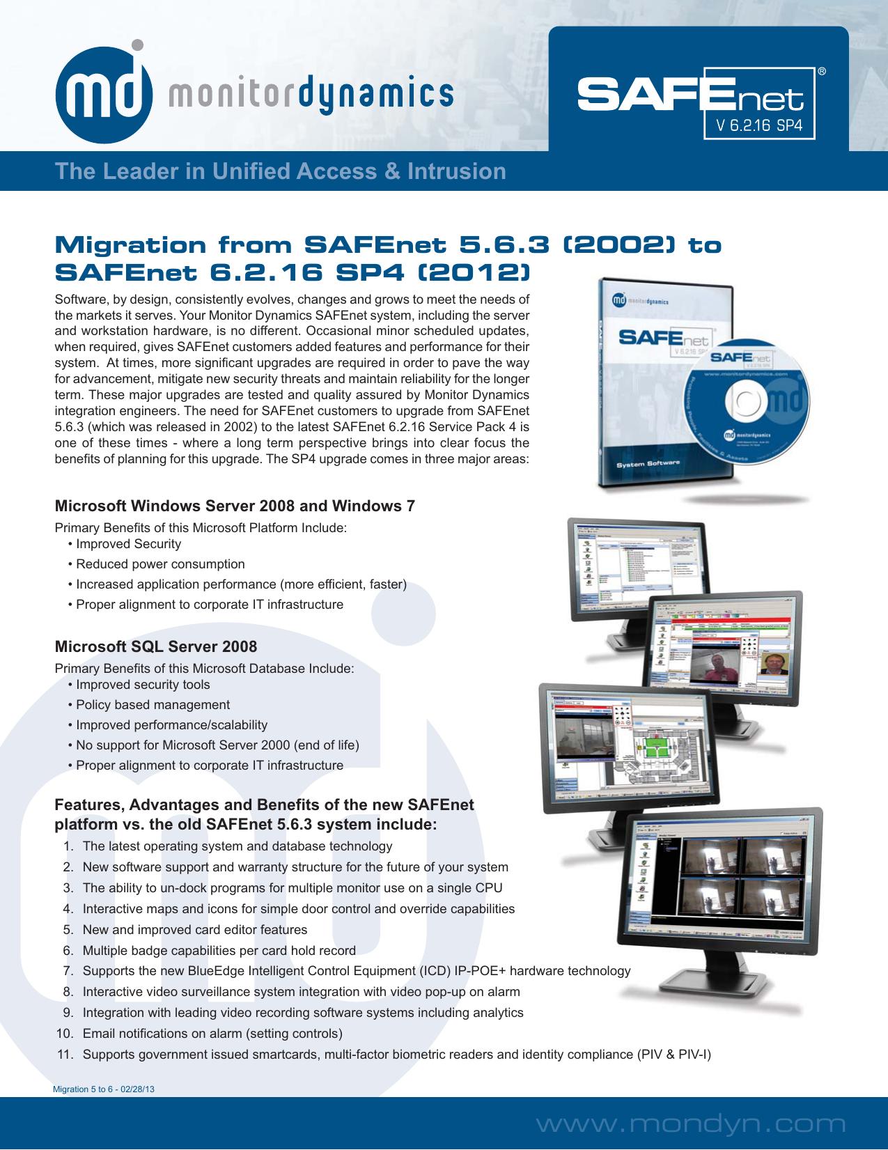 SAFEnet Migration from 5 6 3 to6 2 16 SP4 | manualzz com