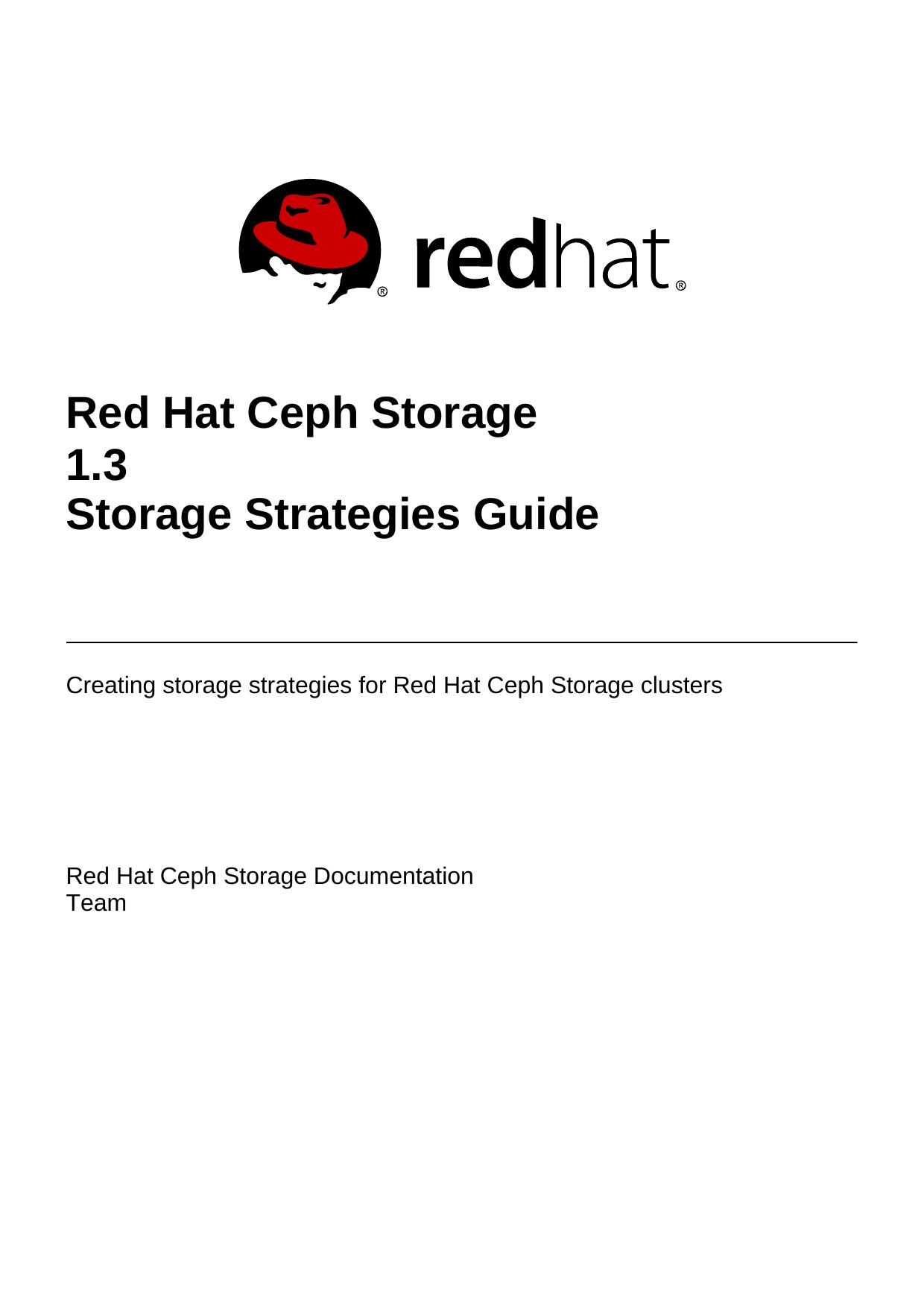 Red Hat Ceph Storage 1 3 Storage Strategies Guide | manualzz com
