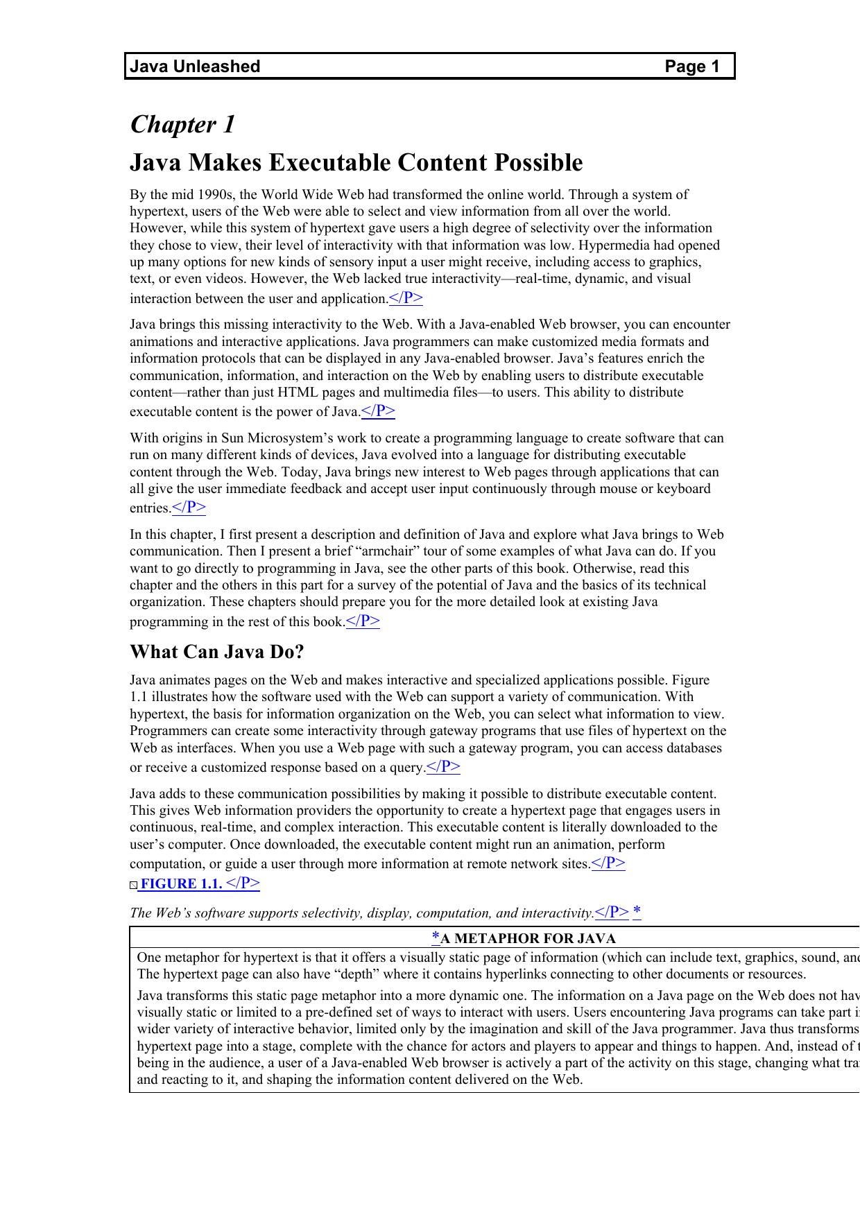 Java Programming Unleashed | manualzz com