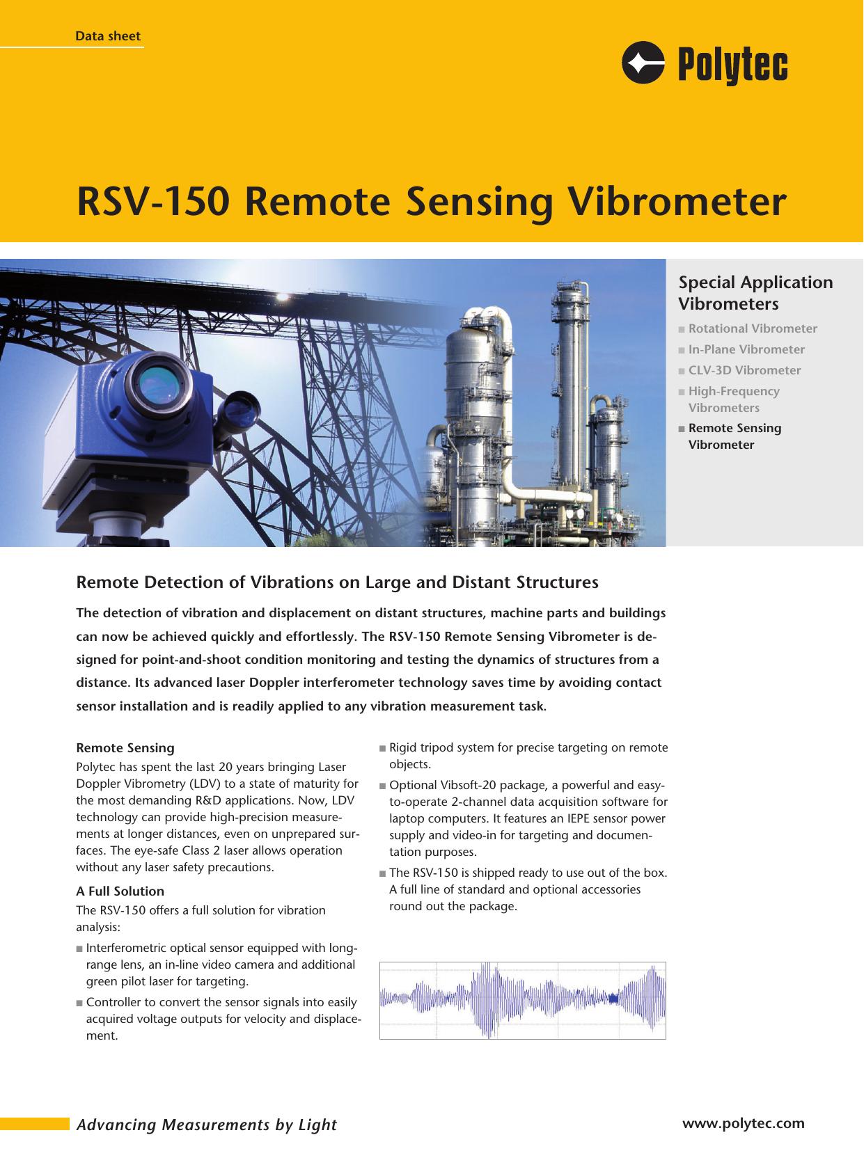 RSV-150 Remote Sensing Vibrometer | manualzz com