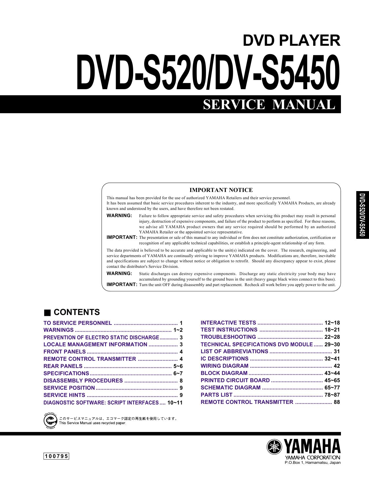 Dvd Player Vintage Hifi Ci 65 Central Locking Interface Wiring Diagram