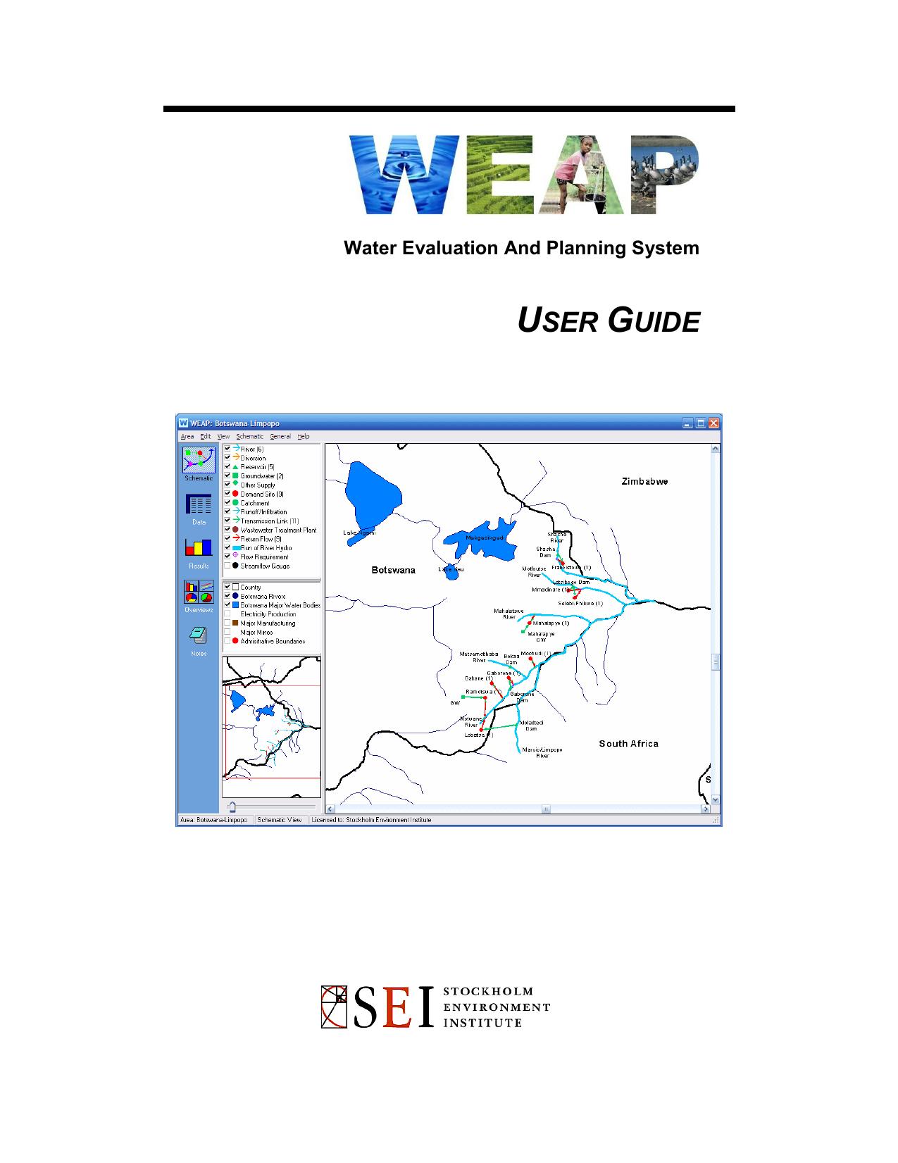 WEAP User Guide - Manualzz