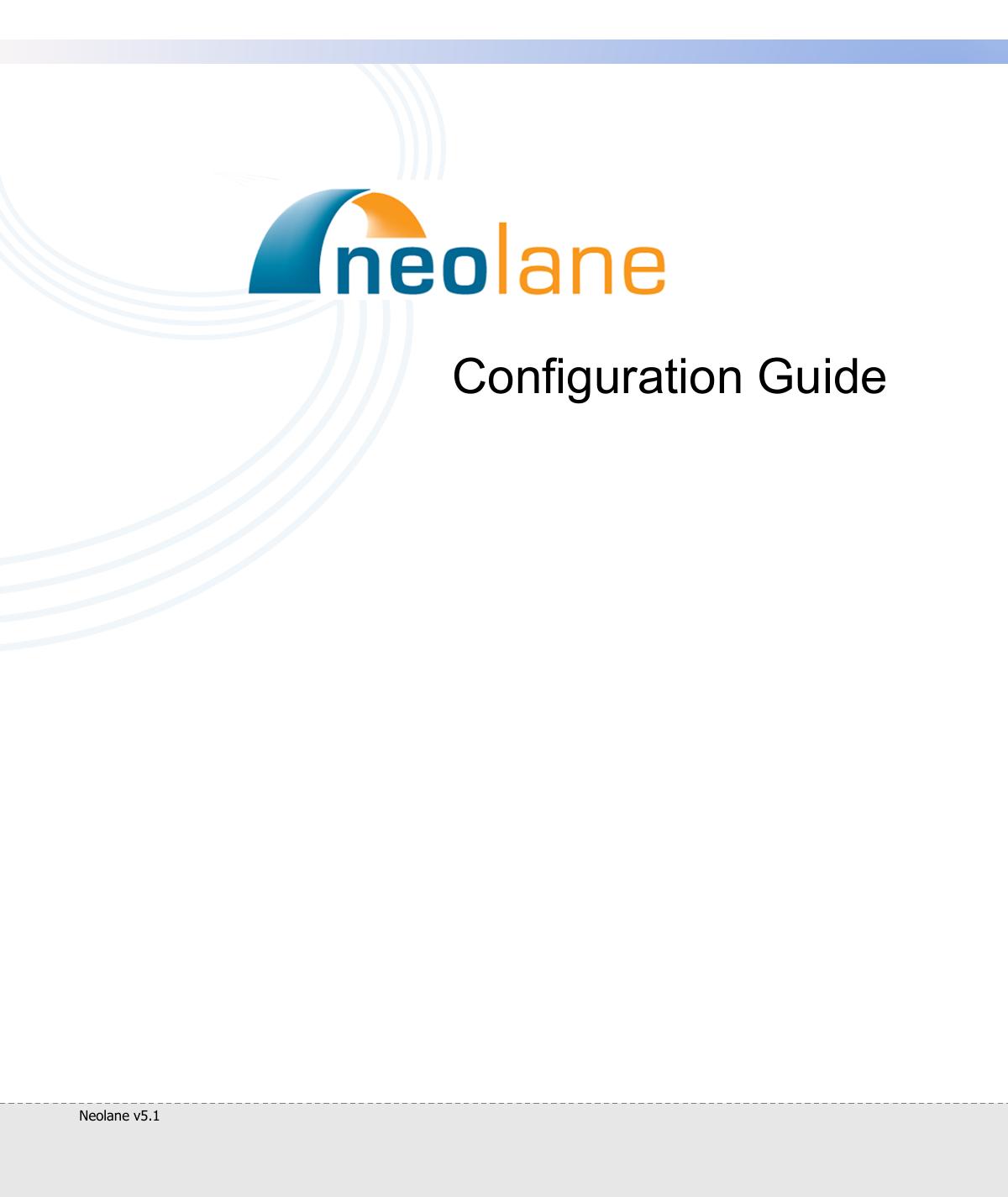 Neolane v5 1 - Configuration Guide | manualzz com